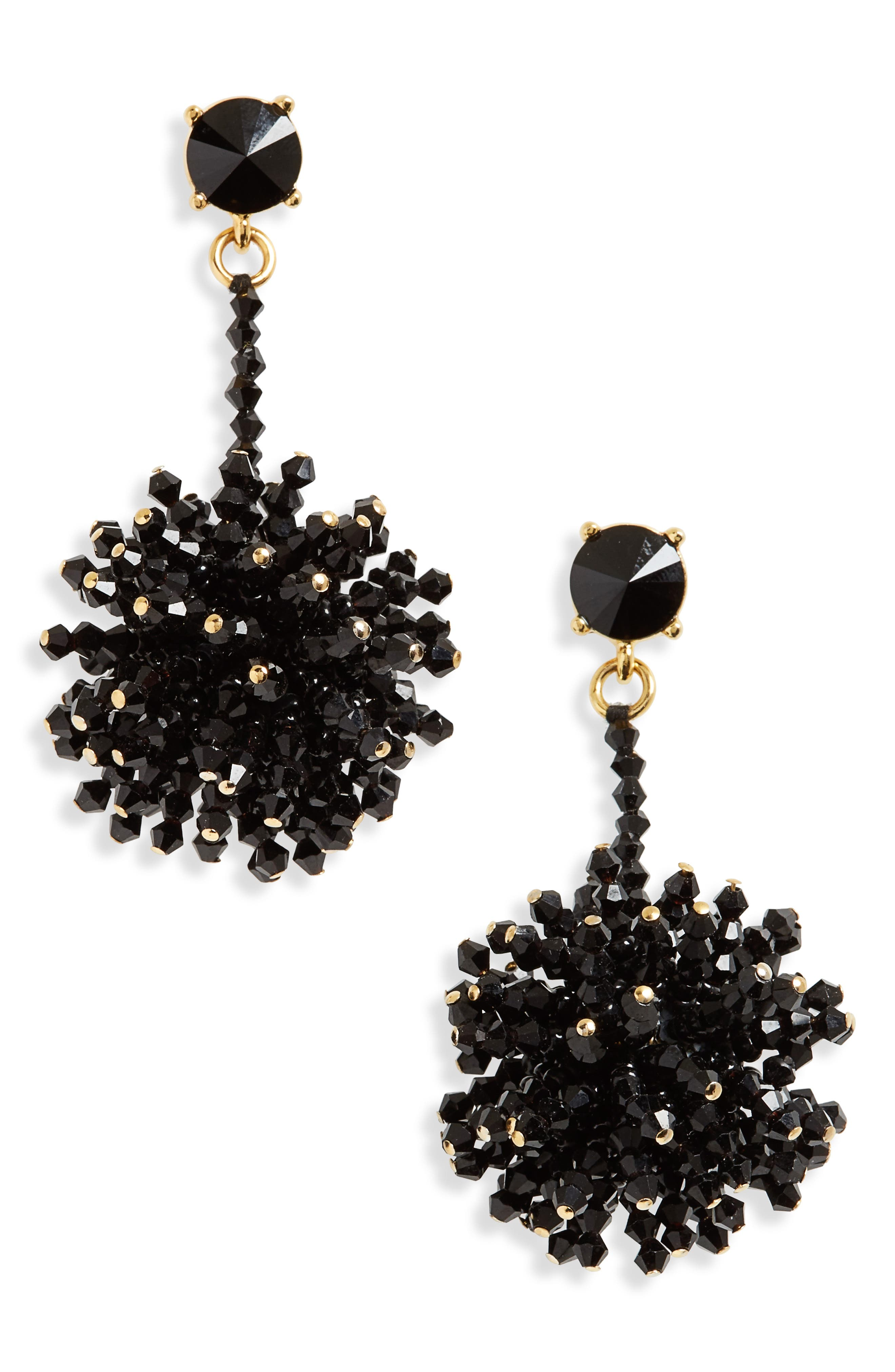 Oscar de la Renta Firework Drop Earrings