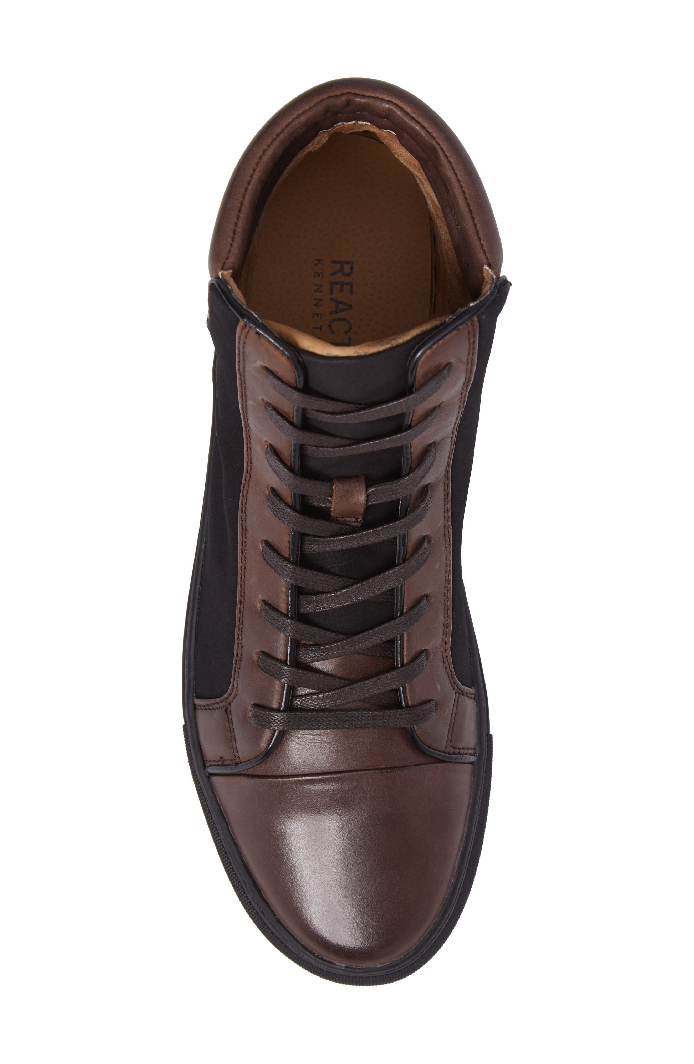 Kenneth Cole Reaction Sneaker,                             Alternate thumbnail 5, color,                             Brown/ Black