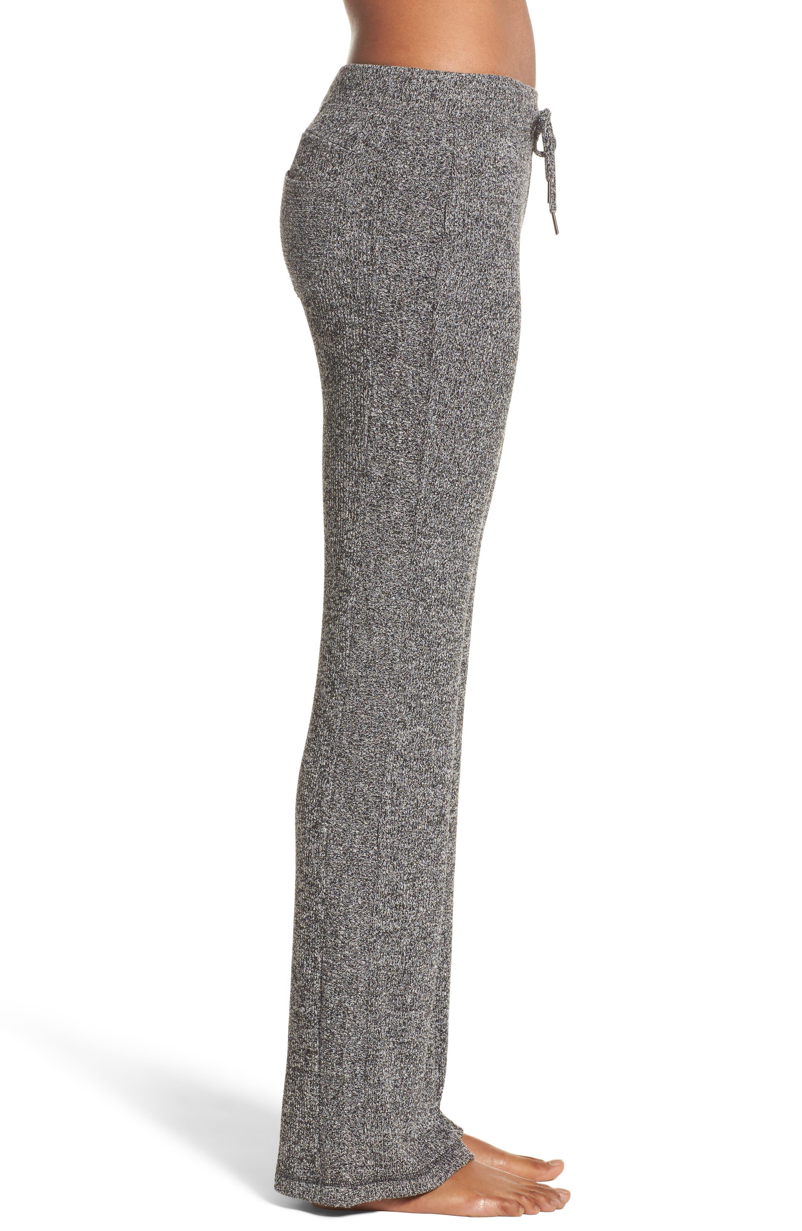 Alternate Image 3  - Zella Mantra Ribbed Flare Pants