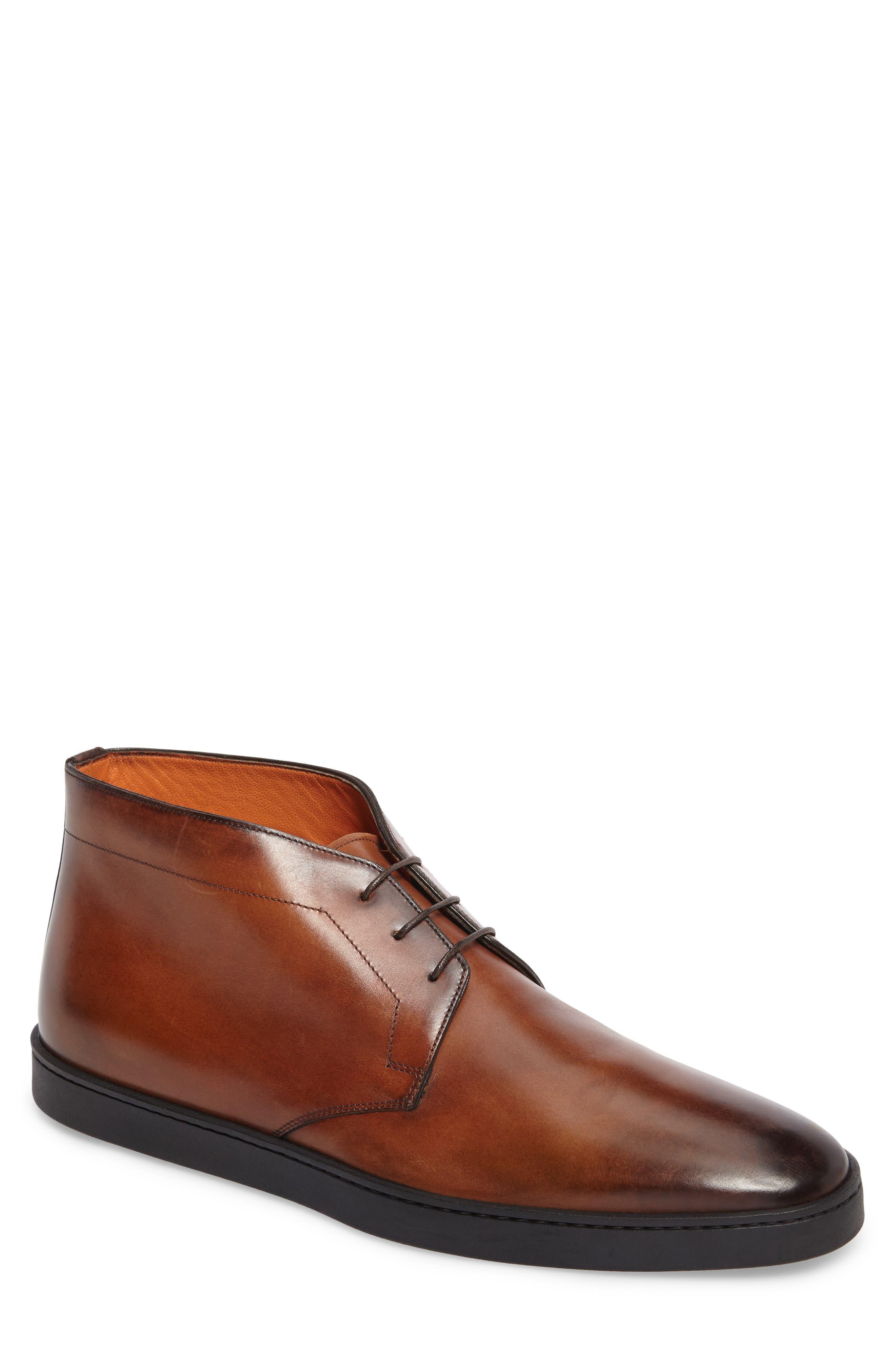Eddy Chukka Sneaker Boot,                         Main,                         color, Brown