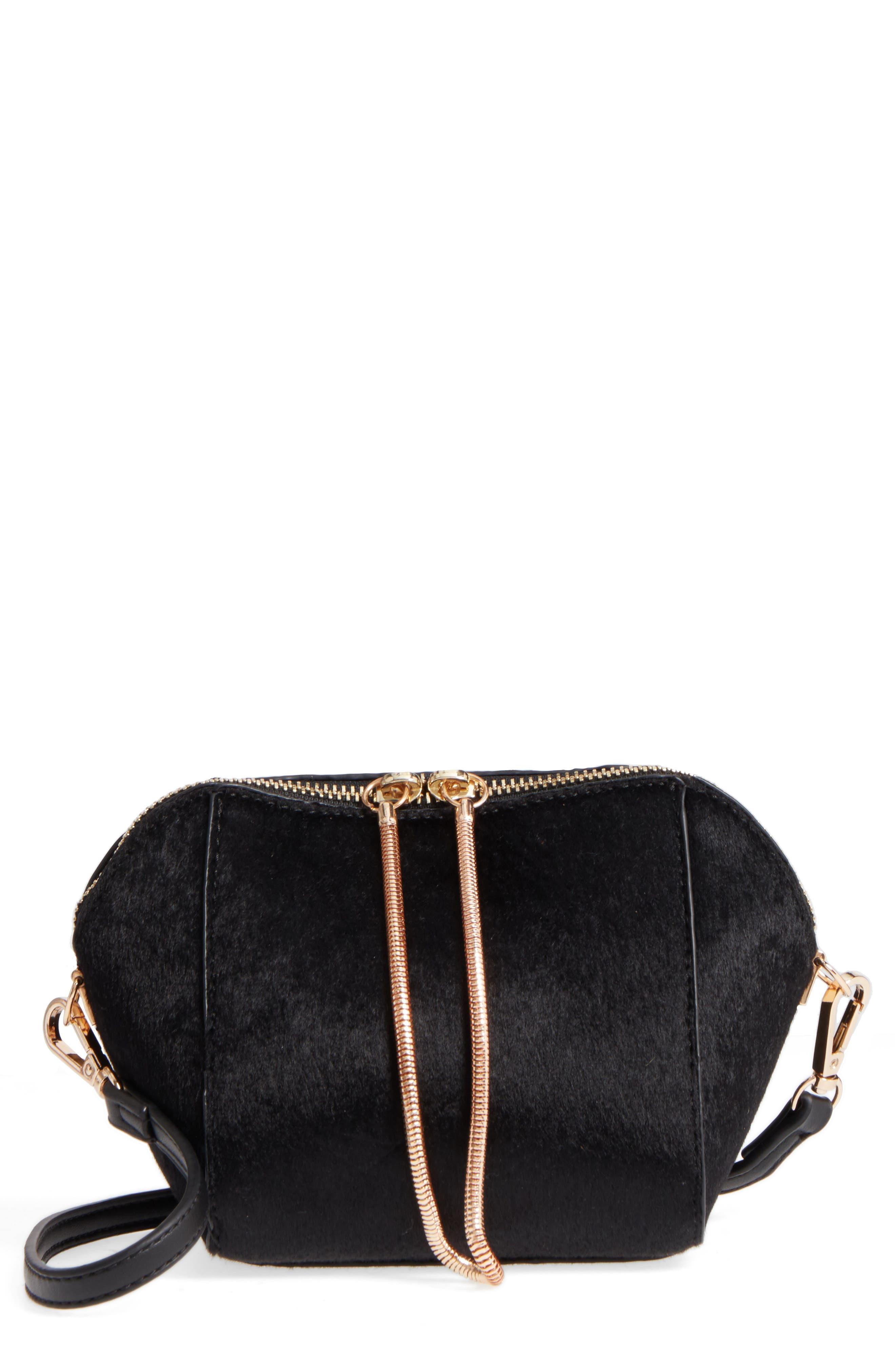 Street Level Geo Zip Clutch