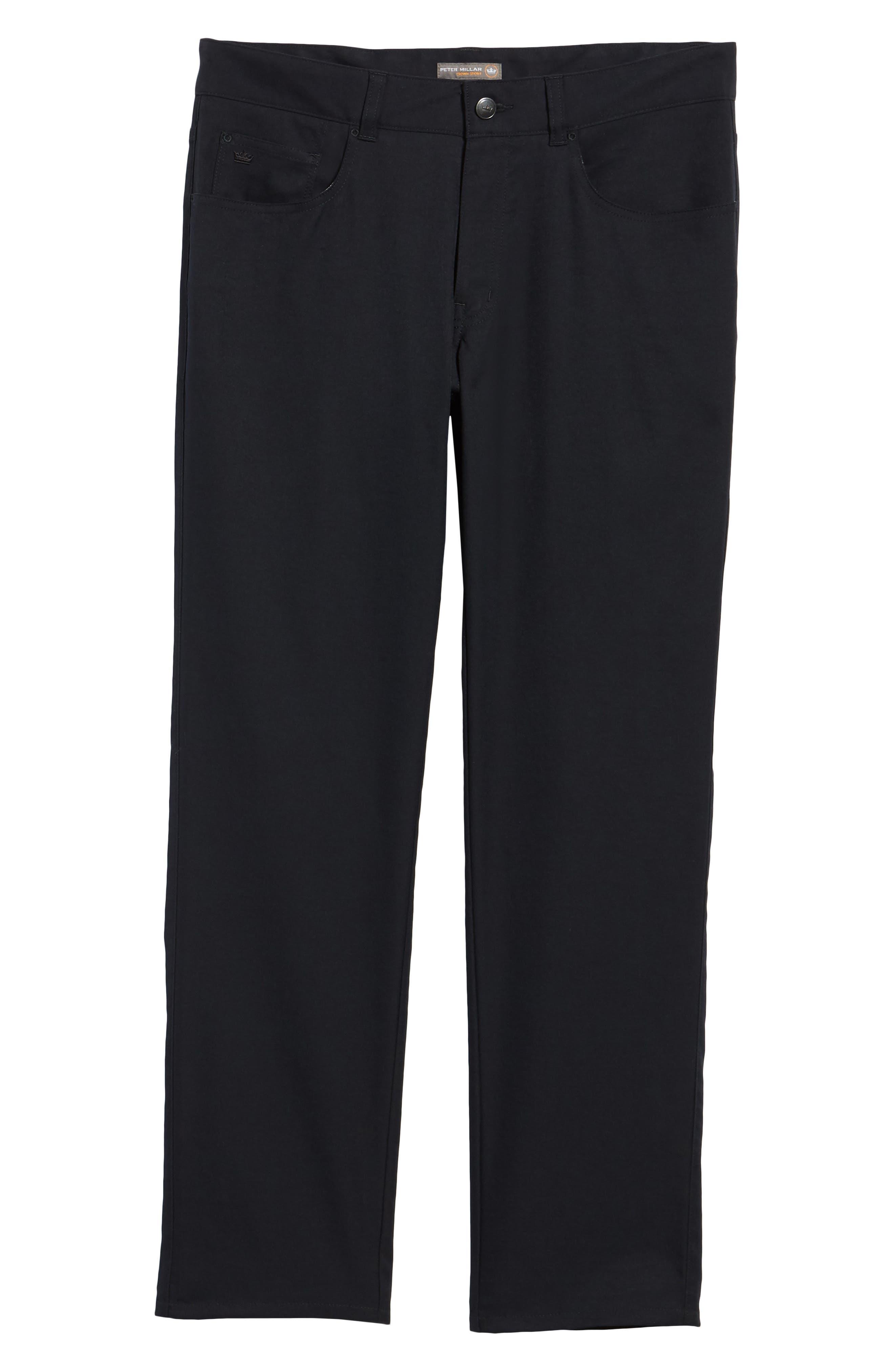EB66 Performance Six-Pocket Pants,                             Alternate thumbnail 6, color,                             Black