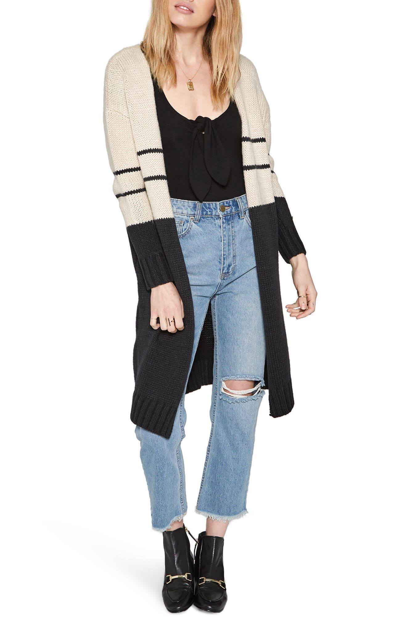 Amuse Society Jayce Colorblock Cardigan