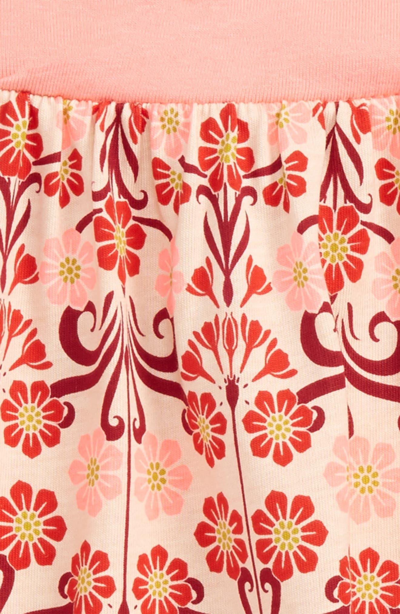 Dahlia Romper,                             Alternate thumbnail 2, color,                             Soft Peach
