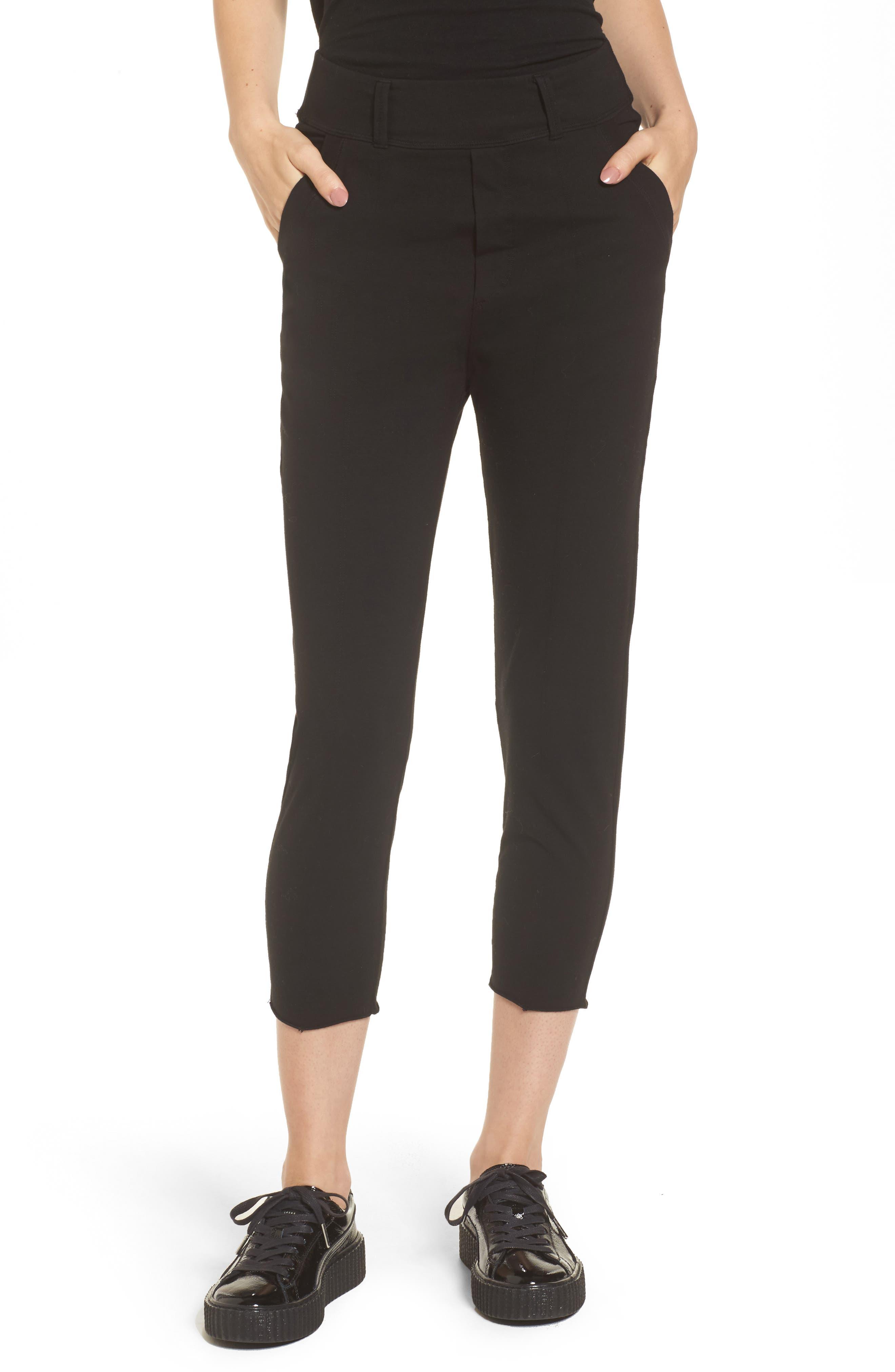The Trouser Knit Pants,                             Main thumbnail 1, color,                             Blackout