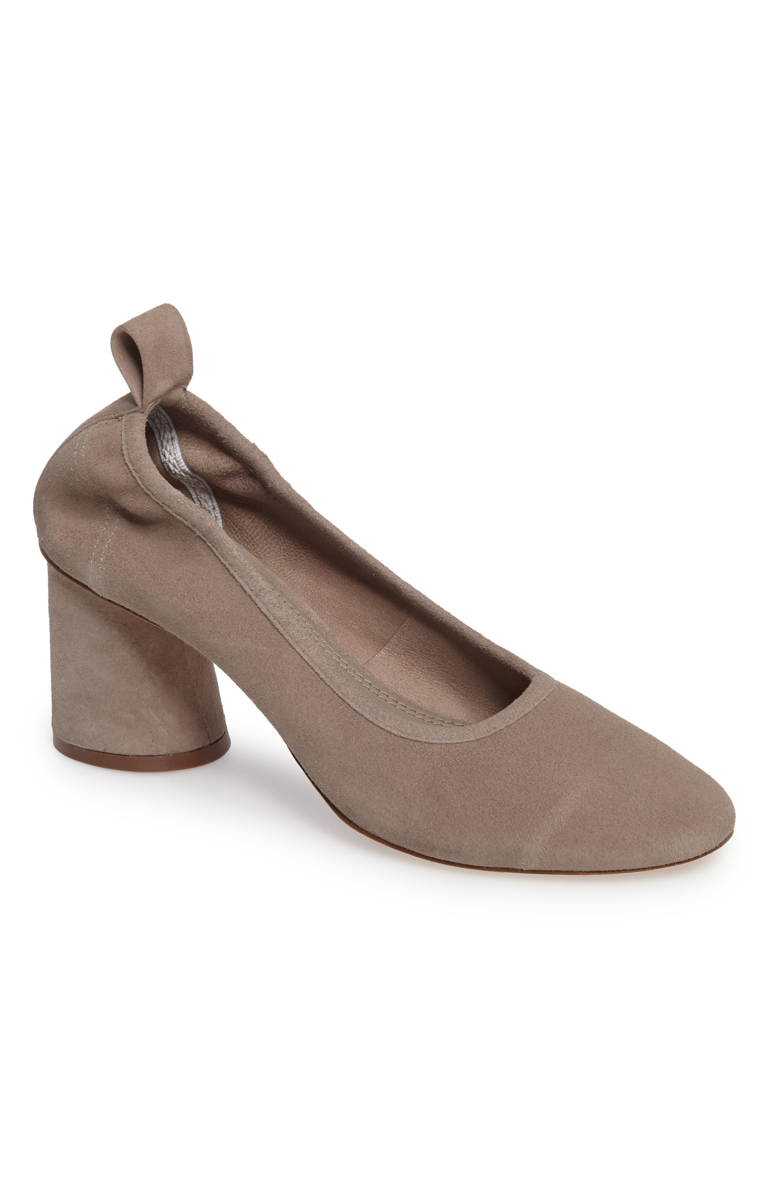 Therese Statement Heel Pump,                         Main,                         color, Duststorm