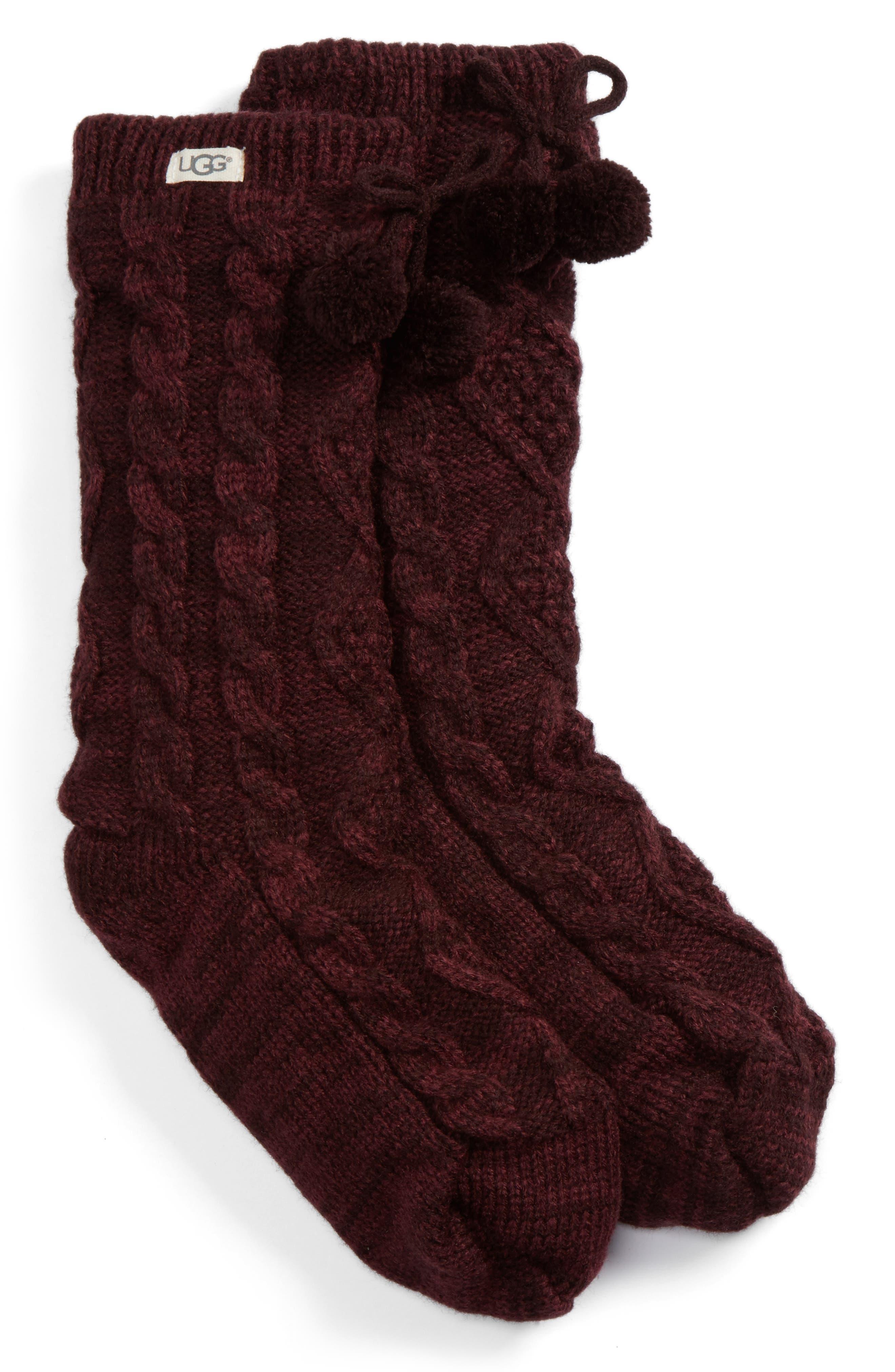 Main Image - UGG® Fleece Lined Socks