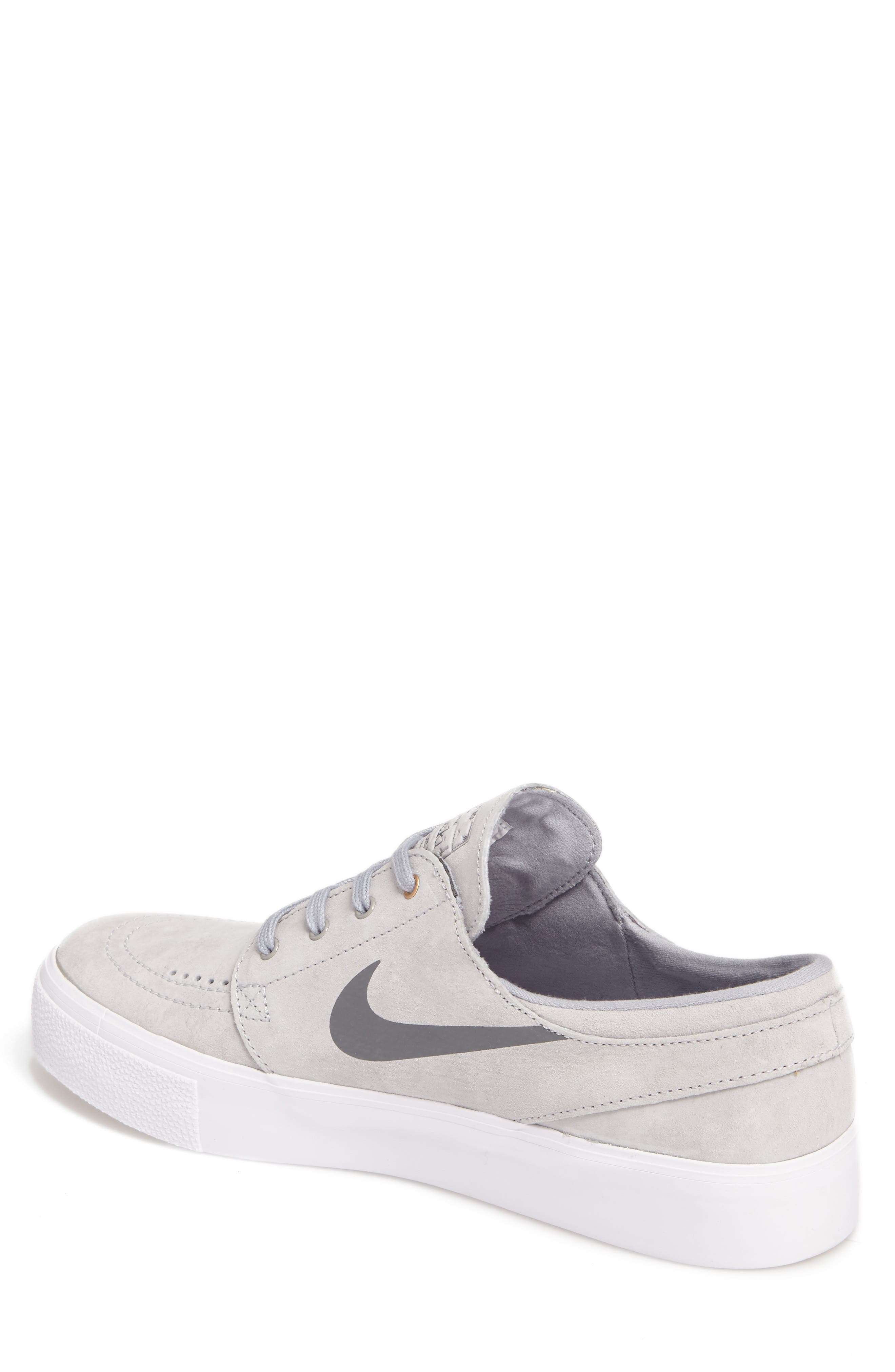 Alternate Image 2  - Nike Zoom Stefan Janoski Premium Skate Sneaker (Men)