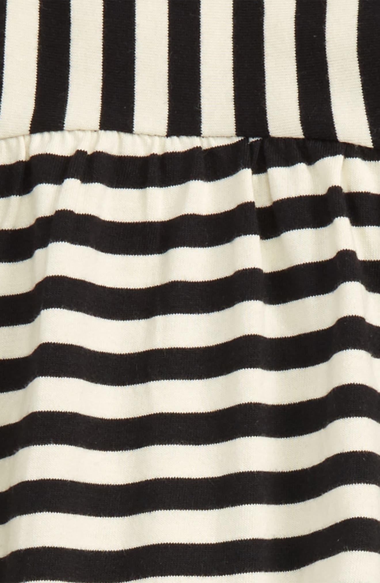Alternate Image 2  - Tea Collection Jura Stripe Top & Leggings Set (Baby Girls & Toddler Girls)