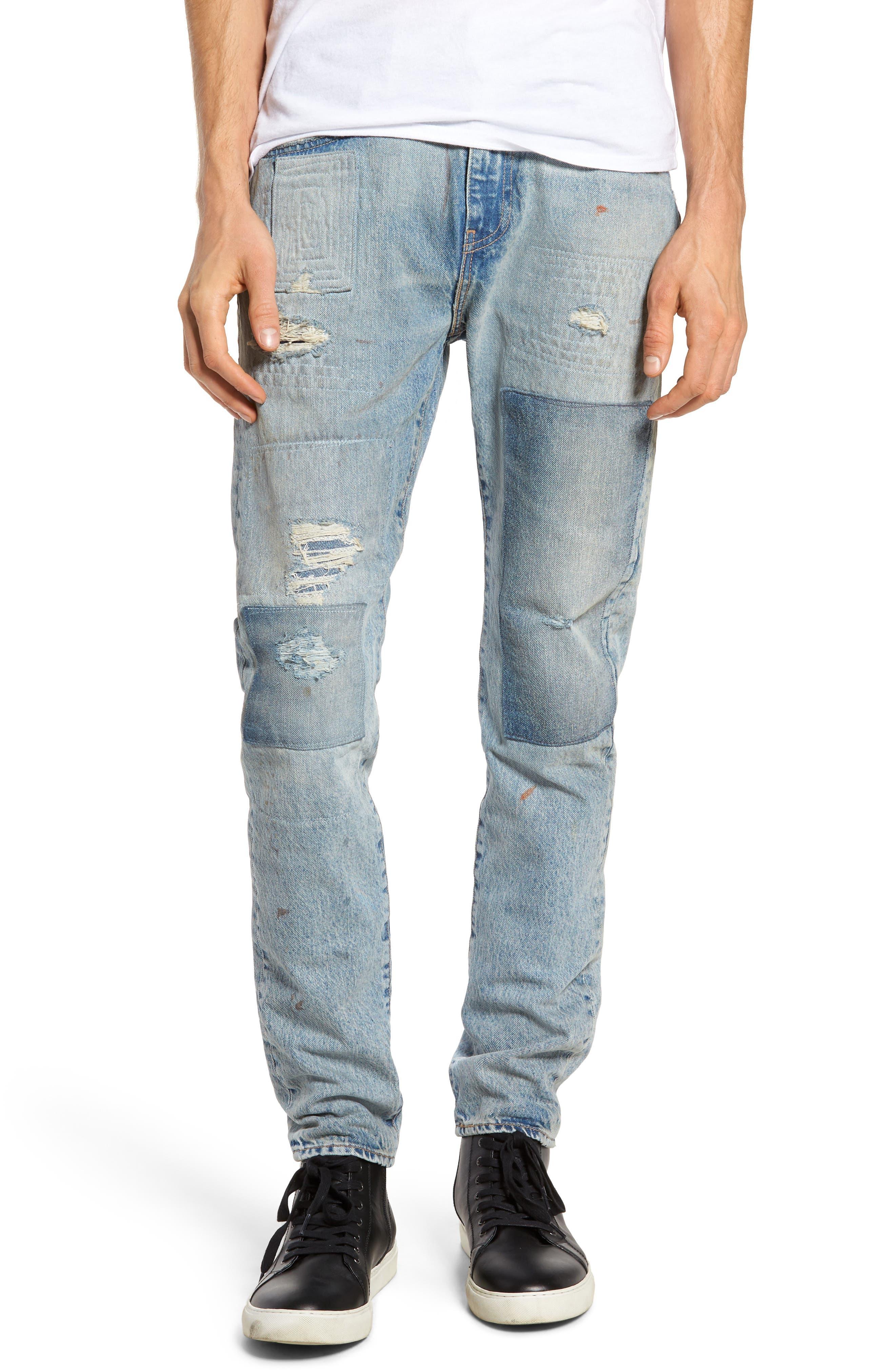 Main Image - Levi's® 512 Slouchy Skinny Fit Jeans (Taku Warp)