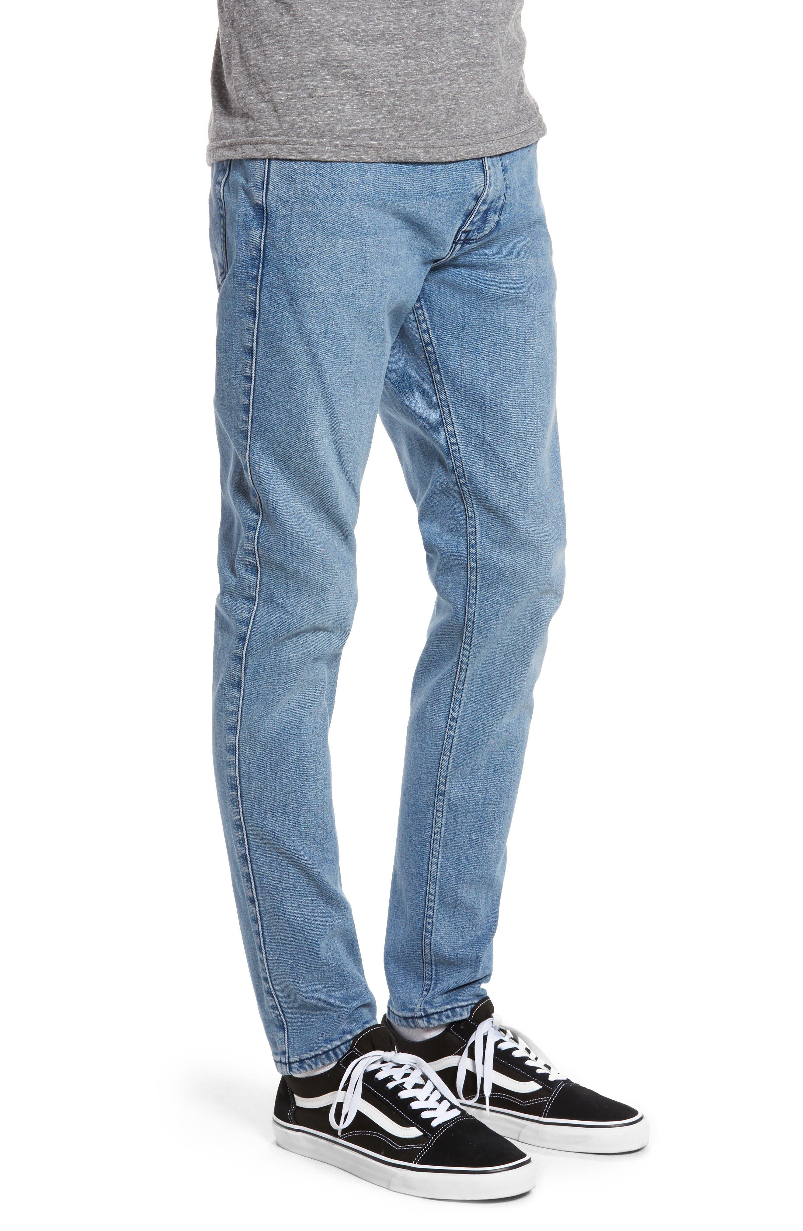 Alternate Image 3  - Dr. Denim Supply Co. Clark Slim Straight Leg Jeans (Worn Light Retro)