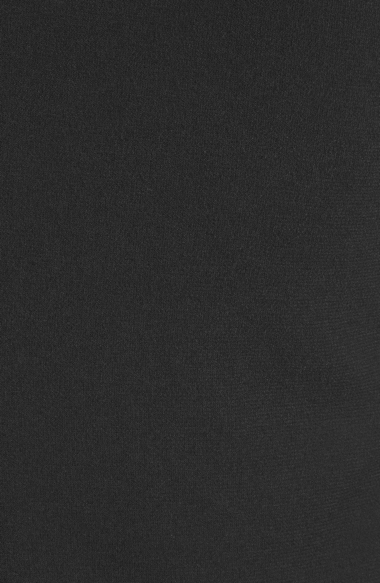 Beaded Maxi Dress,                             Alternate thumbnail 6, color,                             Black