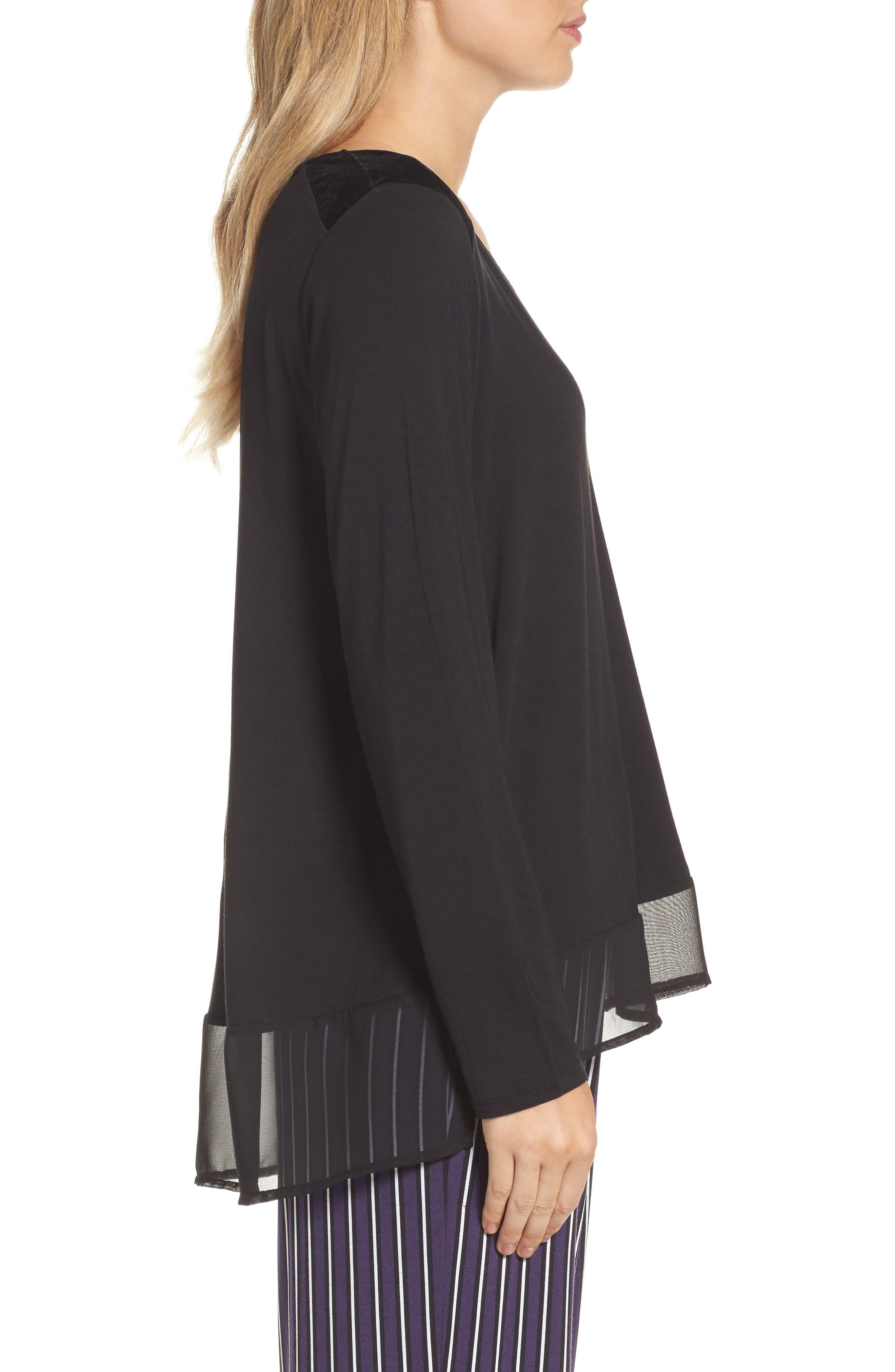 Alternate Image 3  - DKNY Jersey Top