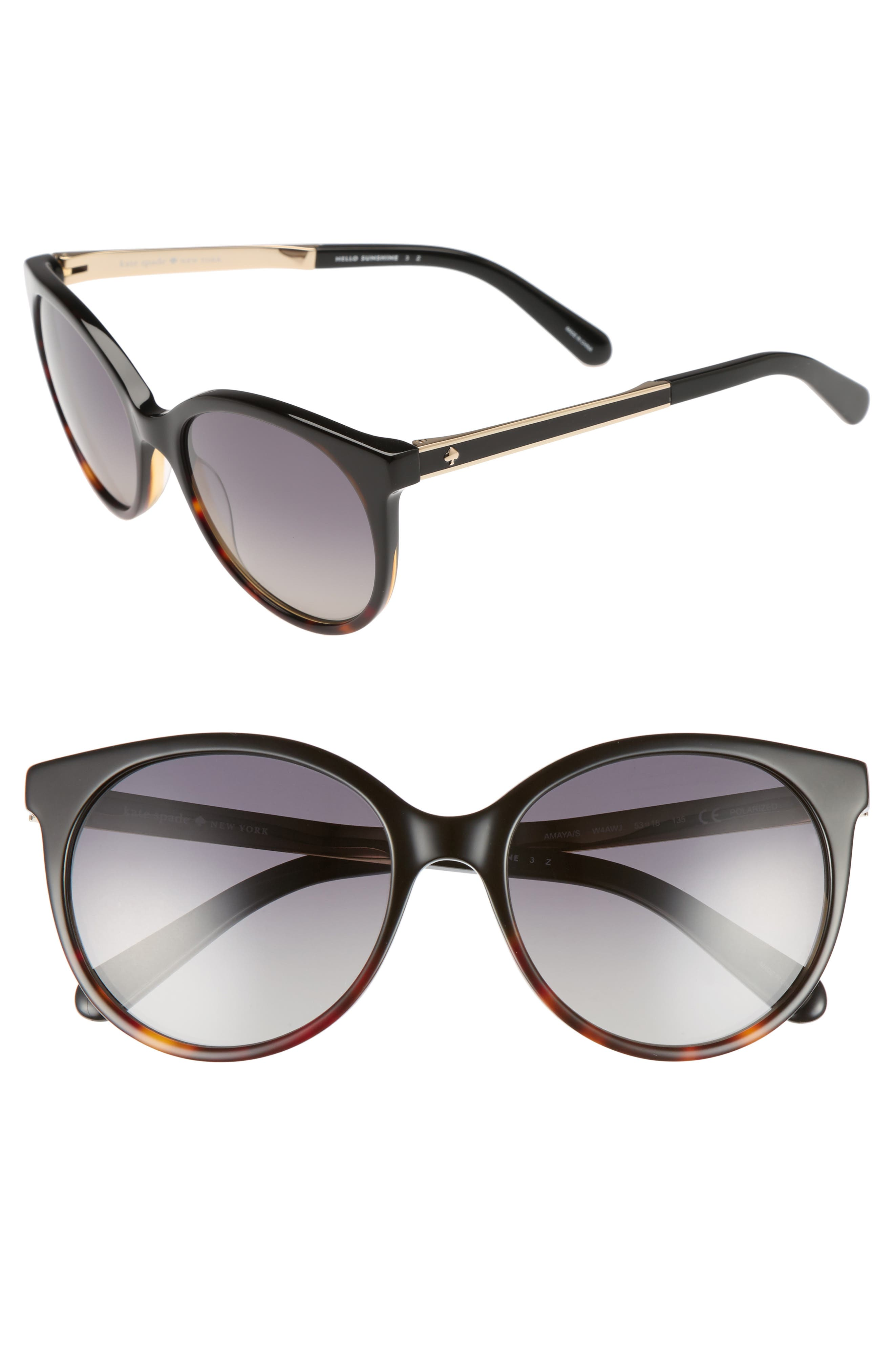 Alternate Image 1 Selected - kate spade new york 'amayas' 53mm cat eye sunglasses