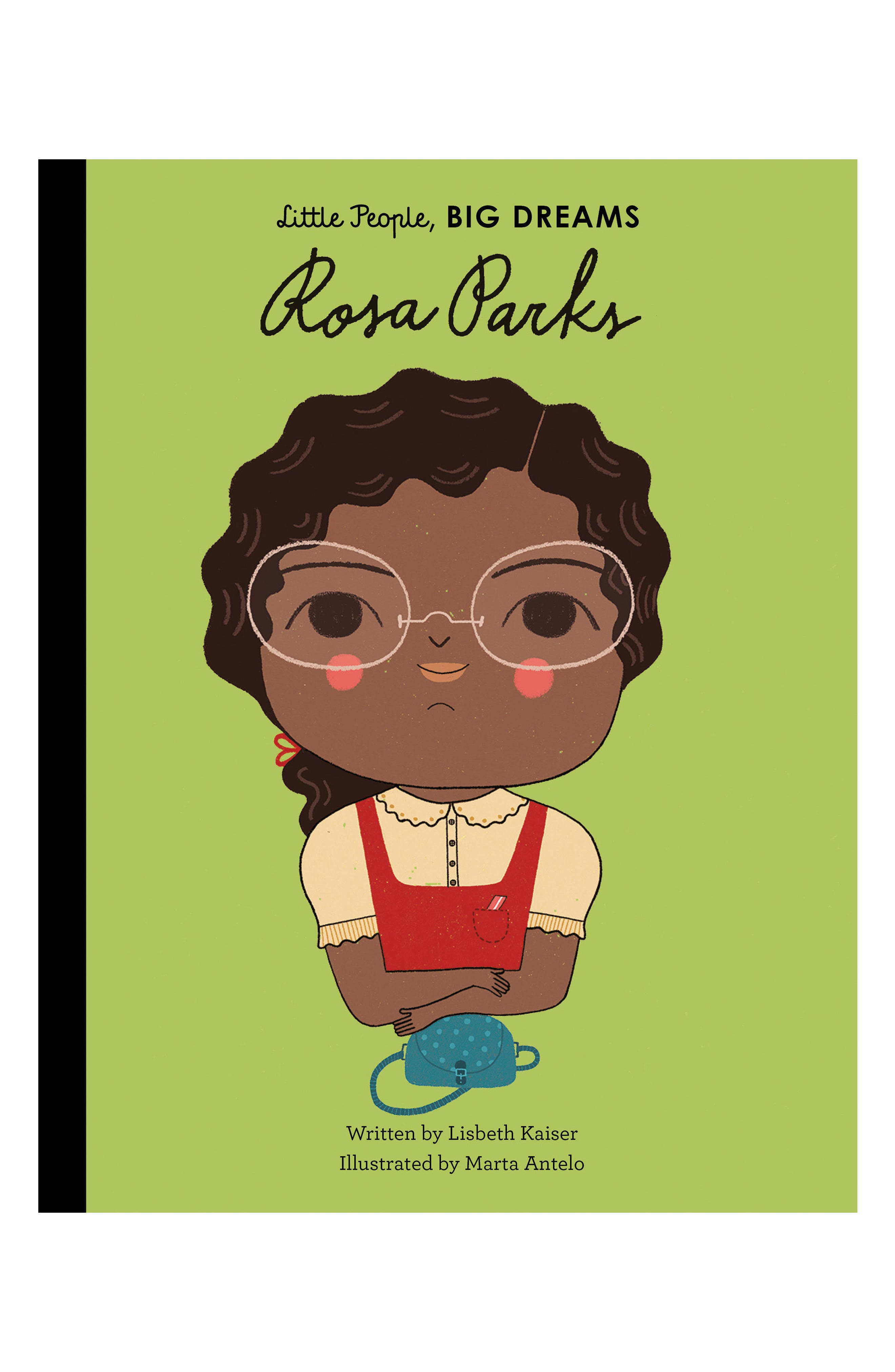 'Little People, Big Dreams: Rosa Parks' Book,                         Main,                         color, Green