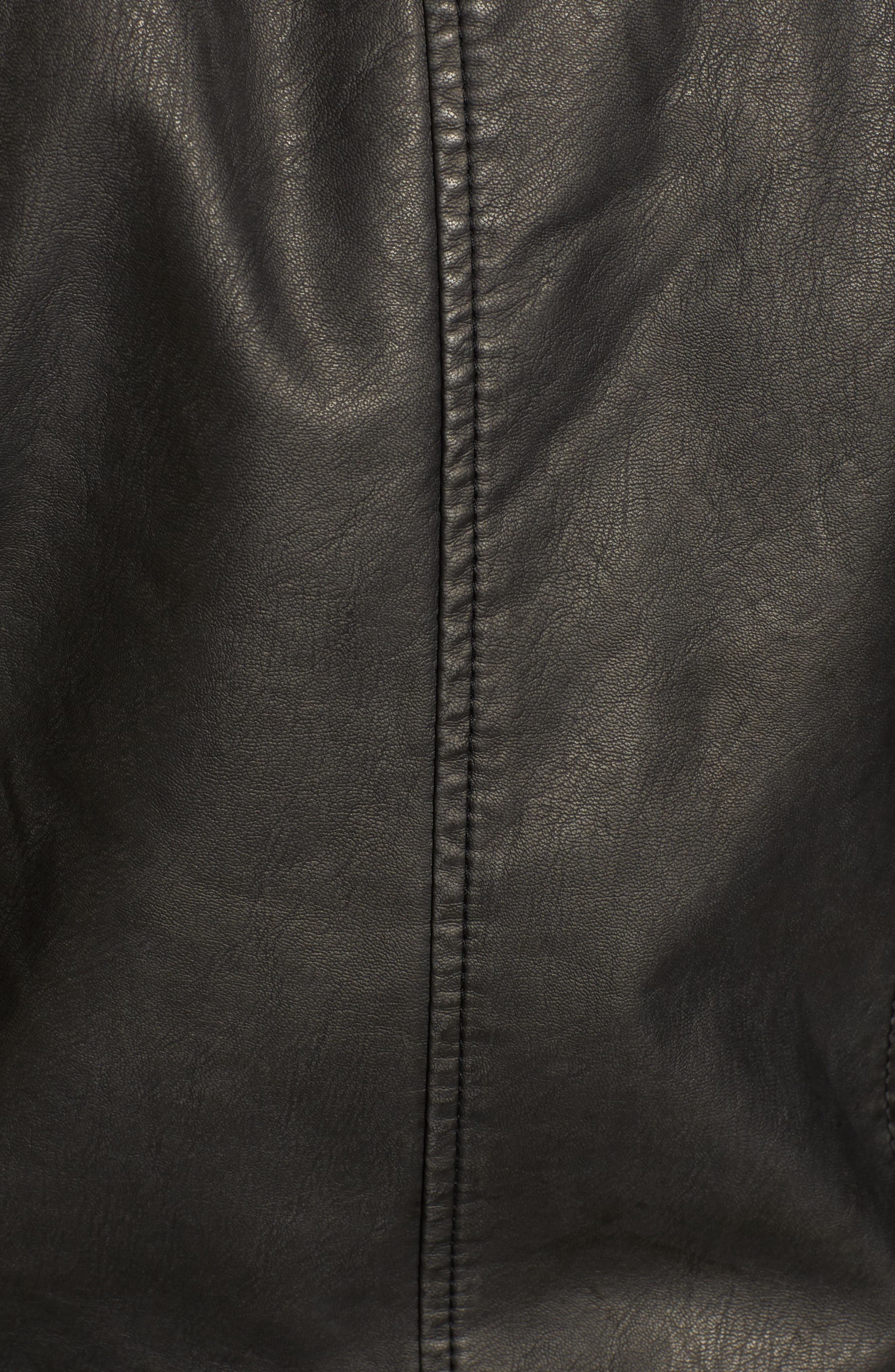 Alternate Image 4  - Lucky Brand Faux Leather Jacket