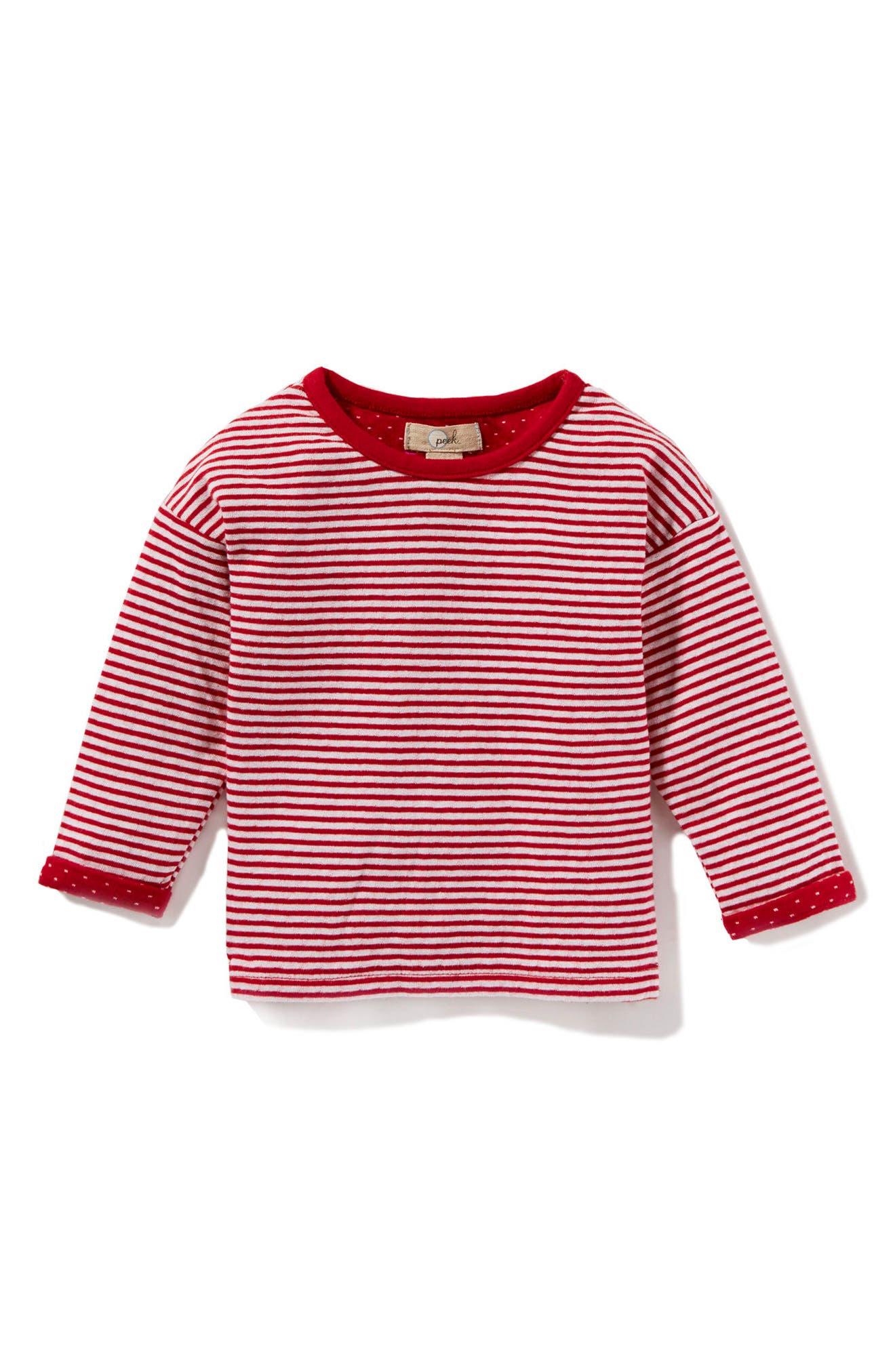 Peek Marley Stripe Tee (Baby Girls)