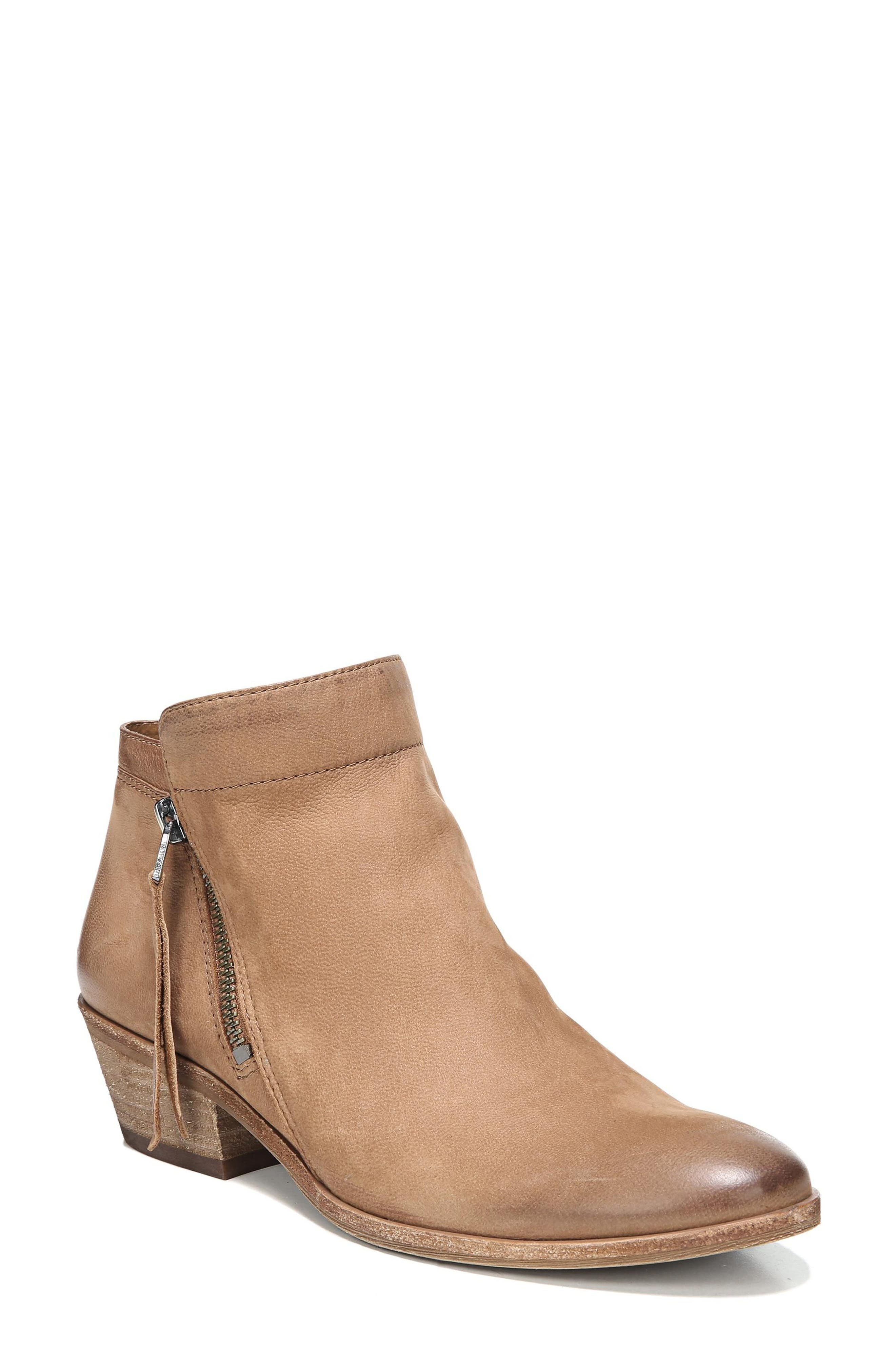 Packer Bootie,                             Main thumbnail 1, color,                             Deep Saddle Leather