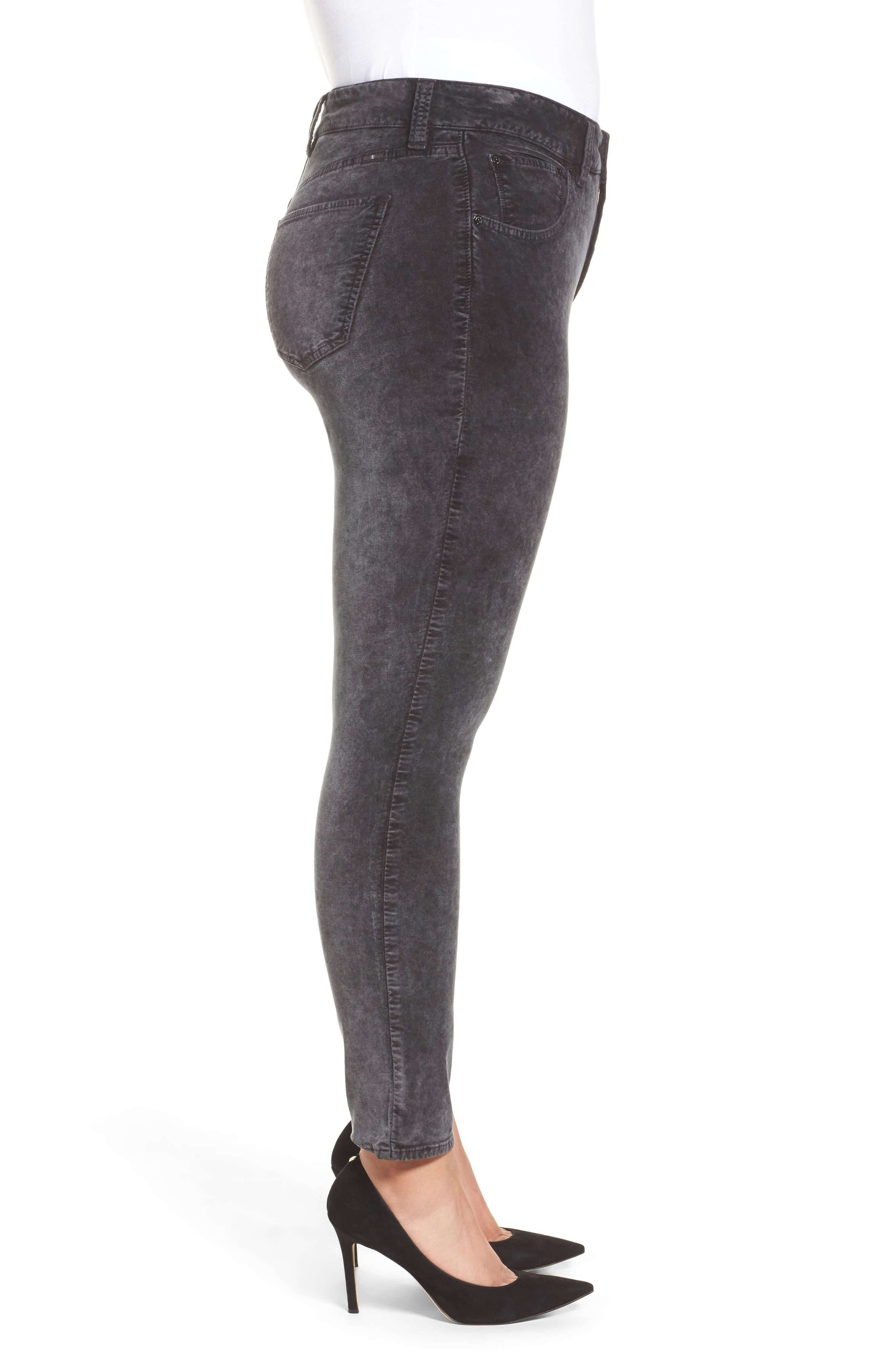 Emma Legging Jeans,                             Alternate thumbnail 3, color,                             Parkman