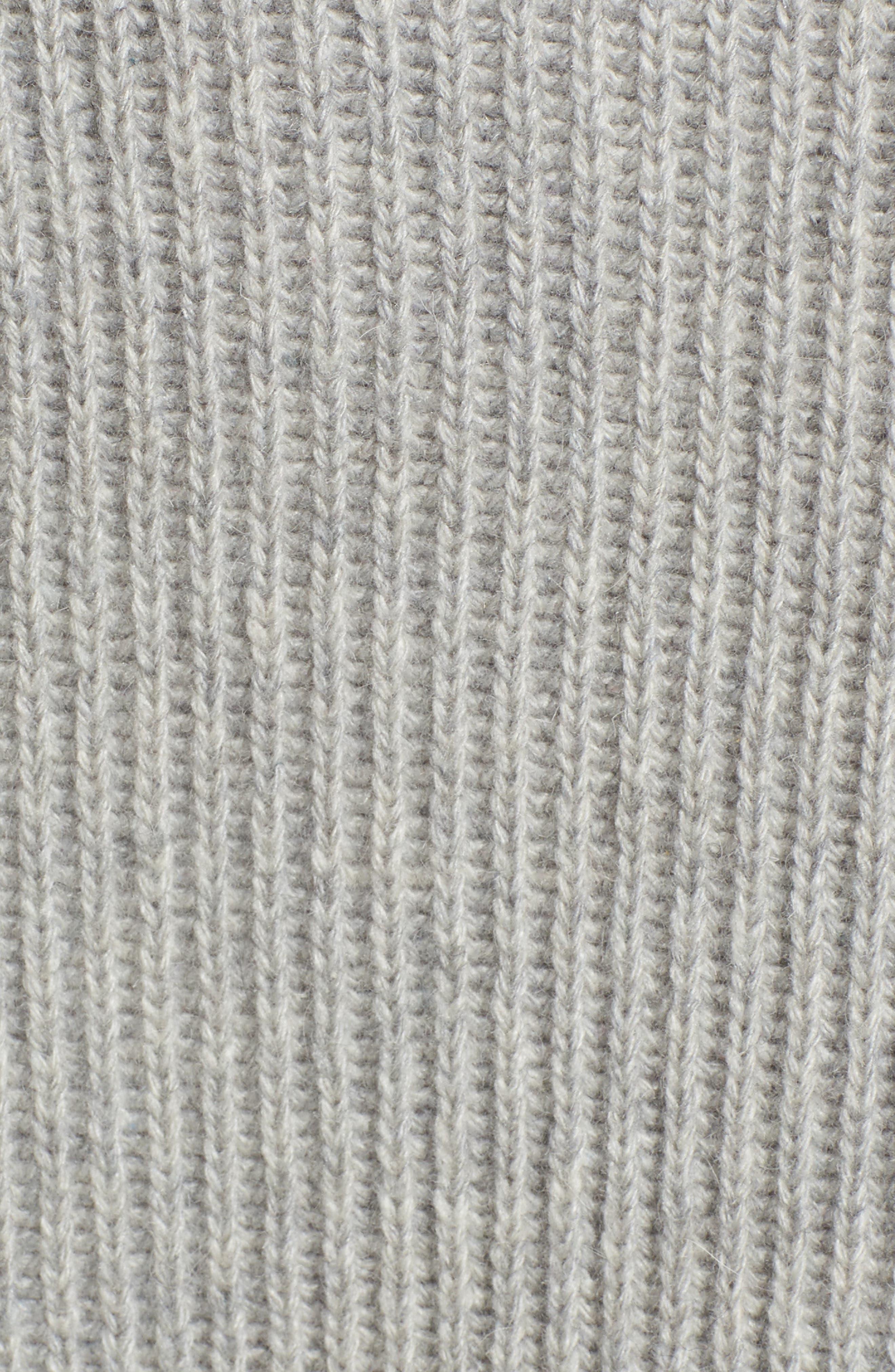 Alternate Image 6  - EVIDNT Unbalanced Pattern Wool Blend Sweater
