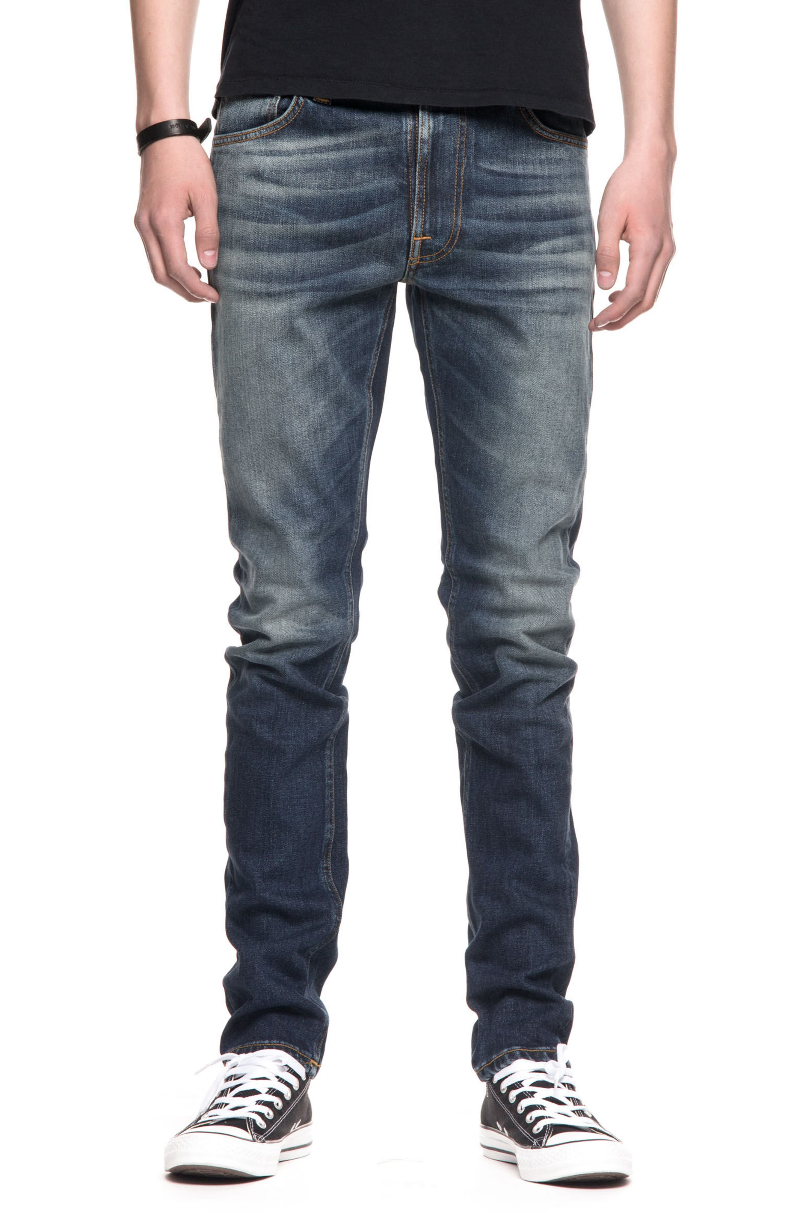 Lean Dean Slouchy Slim Fit Jeans,                         Main,                         color, Crispy Bora