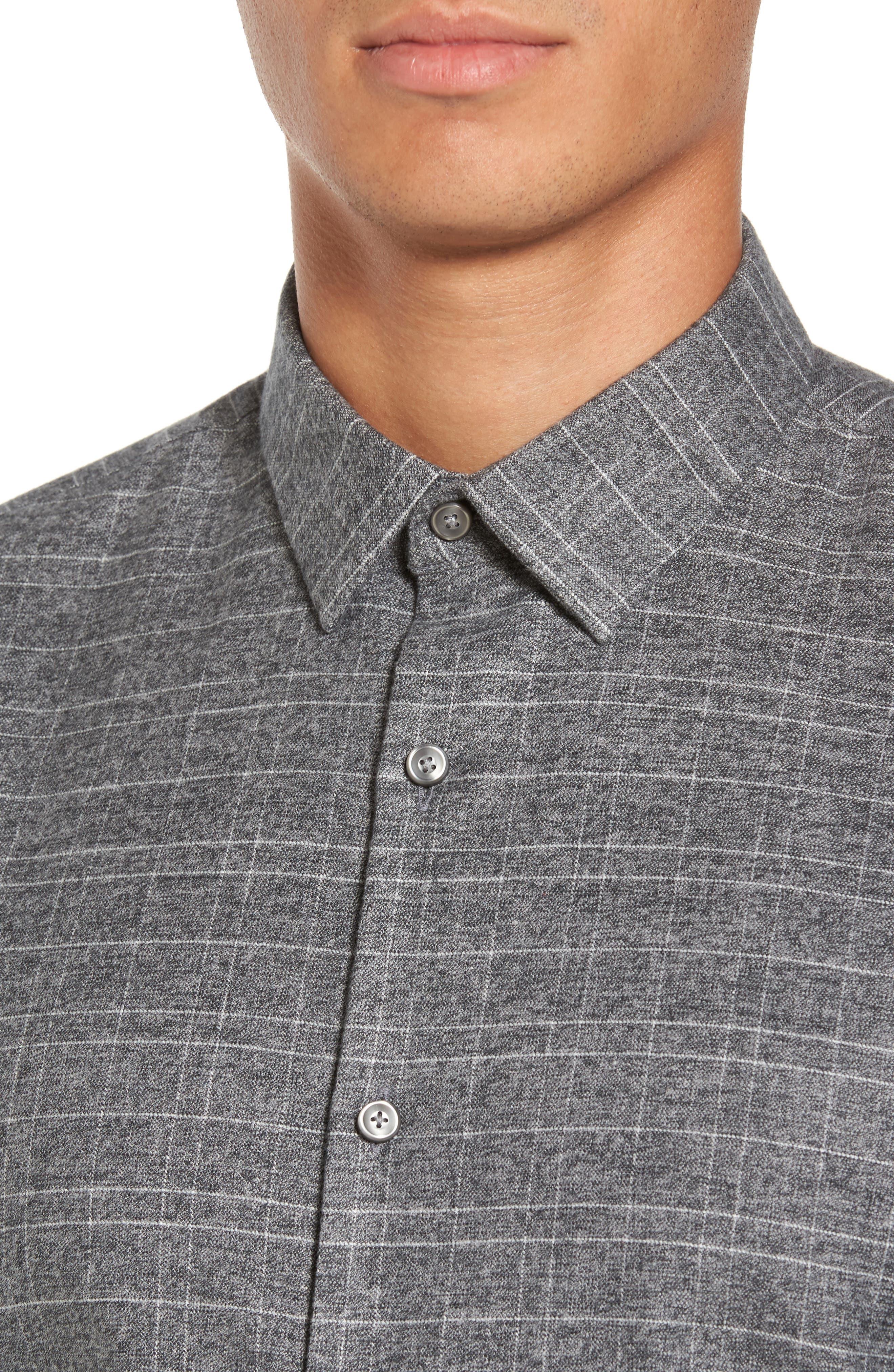 Alternate Image 4  - Calibrate Trim Fit Check Sport Shirt