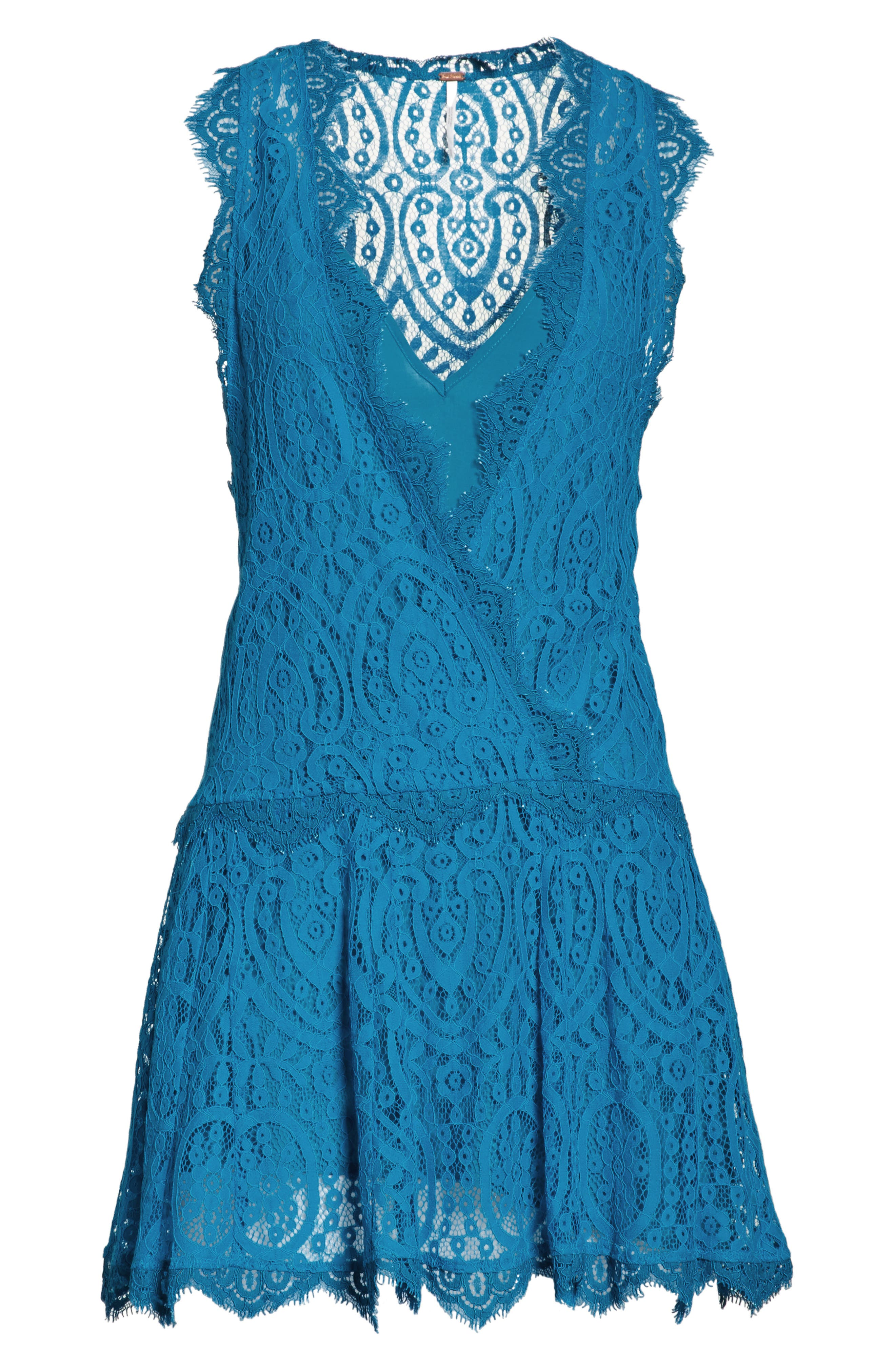 Alternate Image 6  - Free People Heart in Two Lace Minidress
