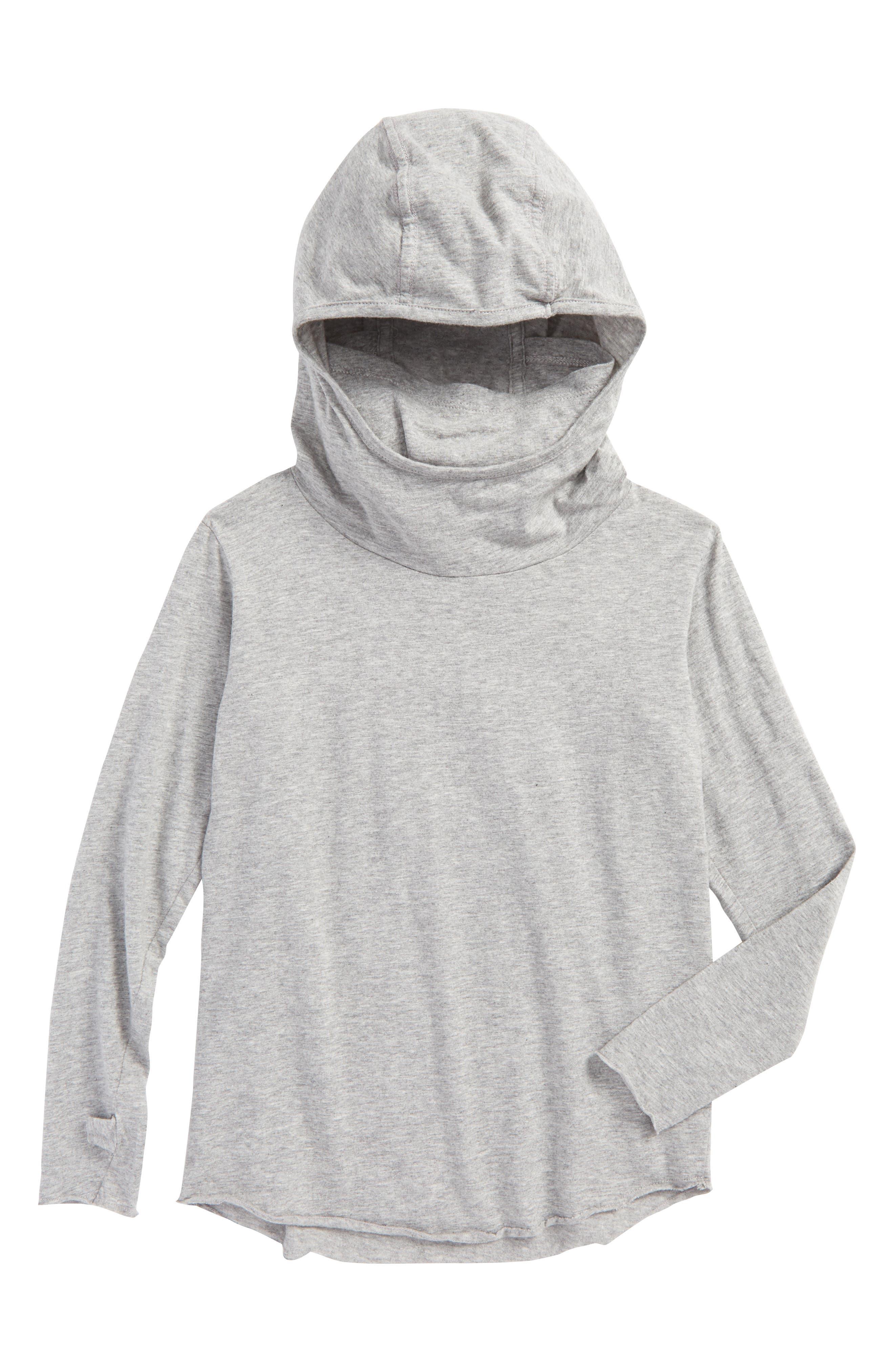 Main Image - NUNUNU Numbered Ninja Hooded T-Shirt (Toddler Boys & Little Boys)
