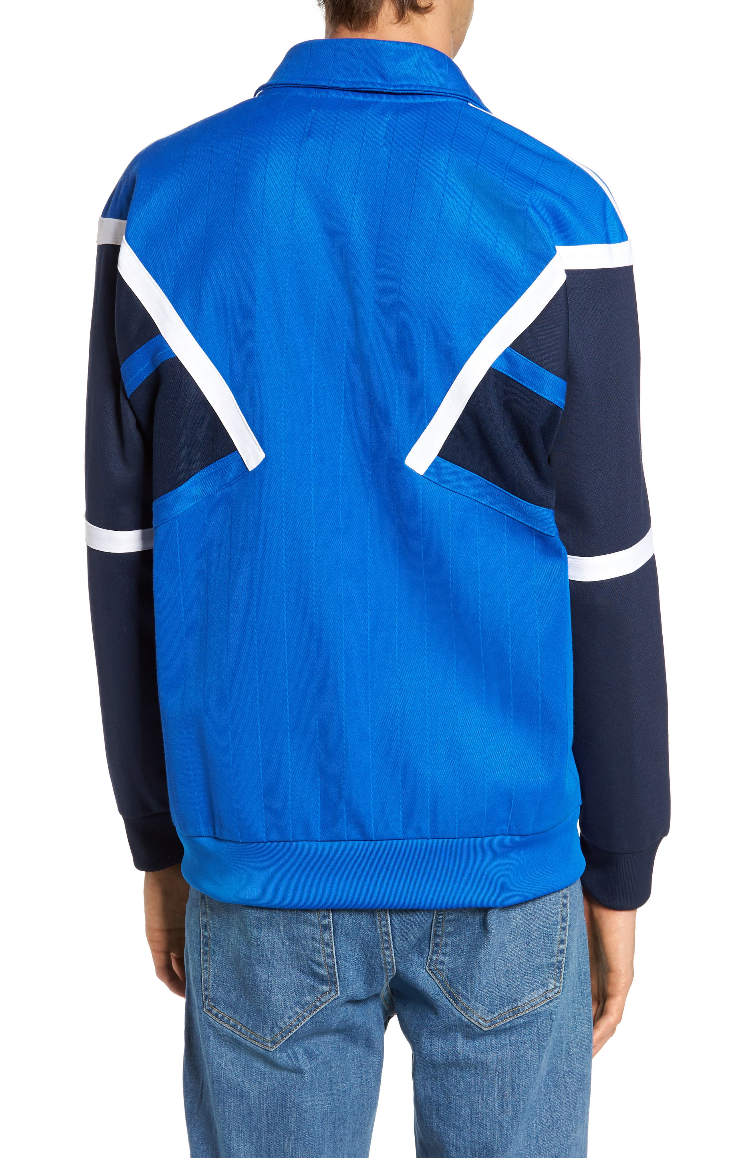 Water Resistant Training Track Jacket,                             Alternate thumbnail 2, color,                             Blue