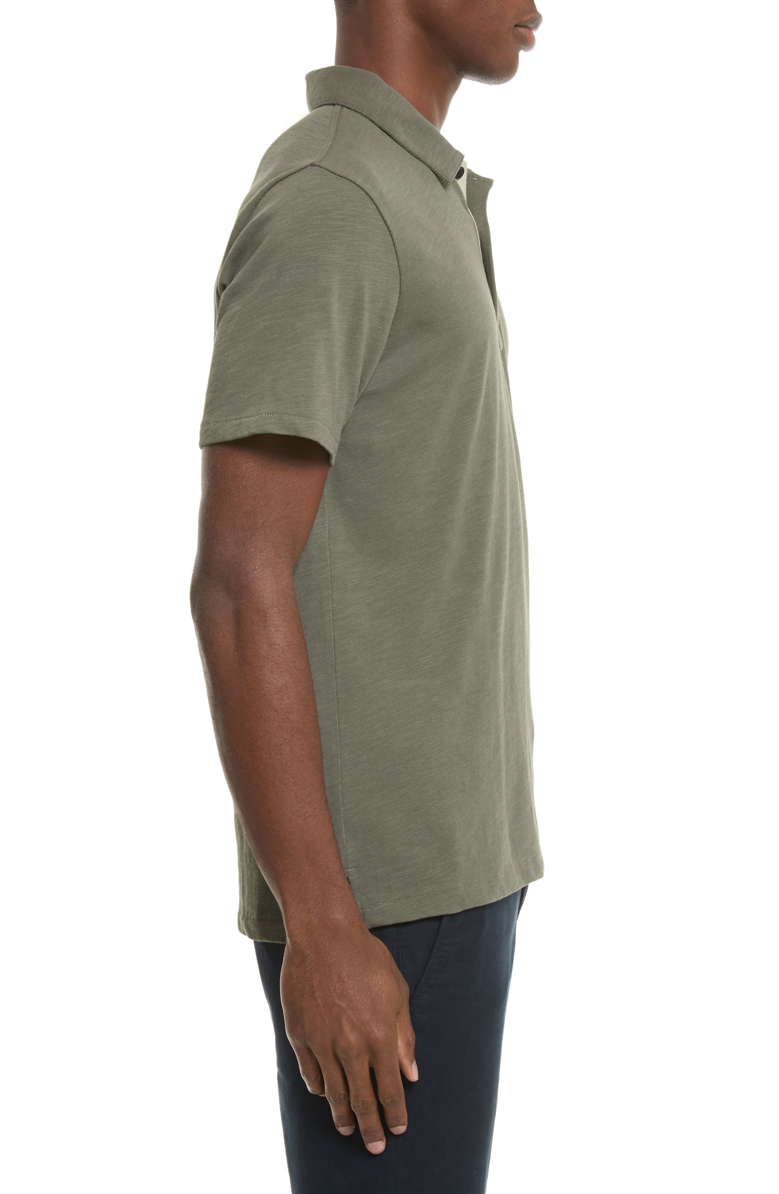 Alternate Image 3  - rag & bone Standard Issue Slub Jersey Polo