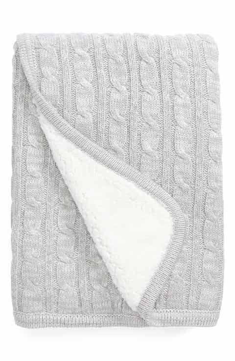 » Free Shipping Nordstrom Baby Cable Knit Blanket by Baby Blankets, Latest fashion trends in online shopping for branded shoes, clothing, dresses, handbags, watches, .