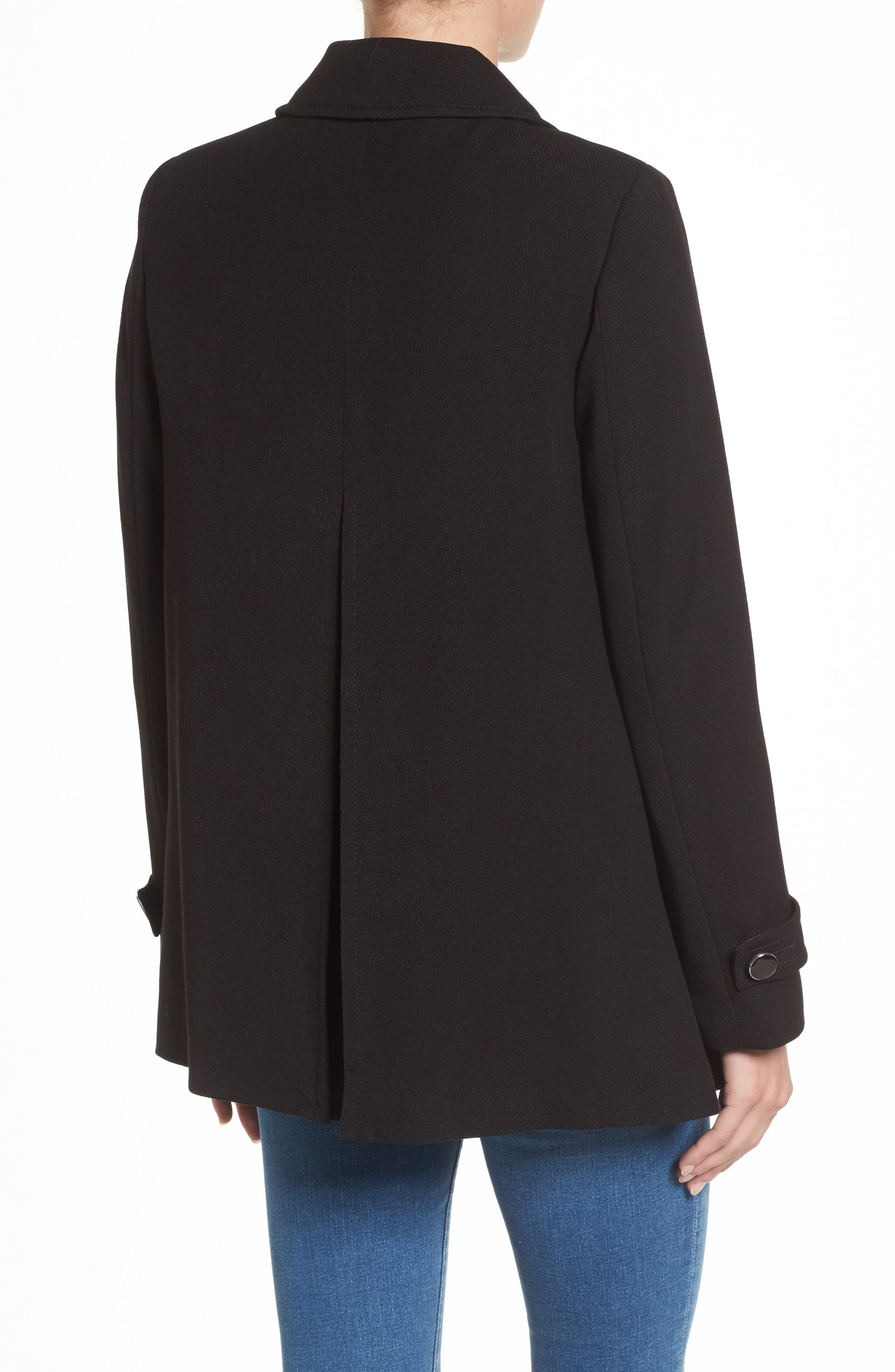 Alternate Image 2  - Dorothy Perkins Double Breasted Swing Coat