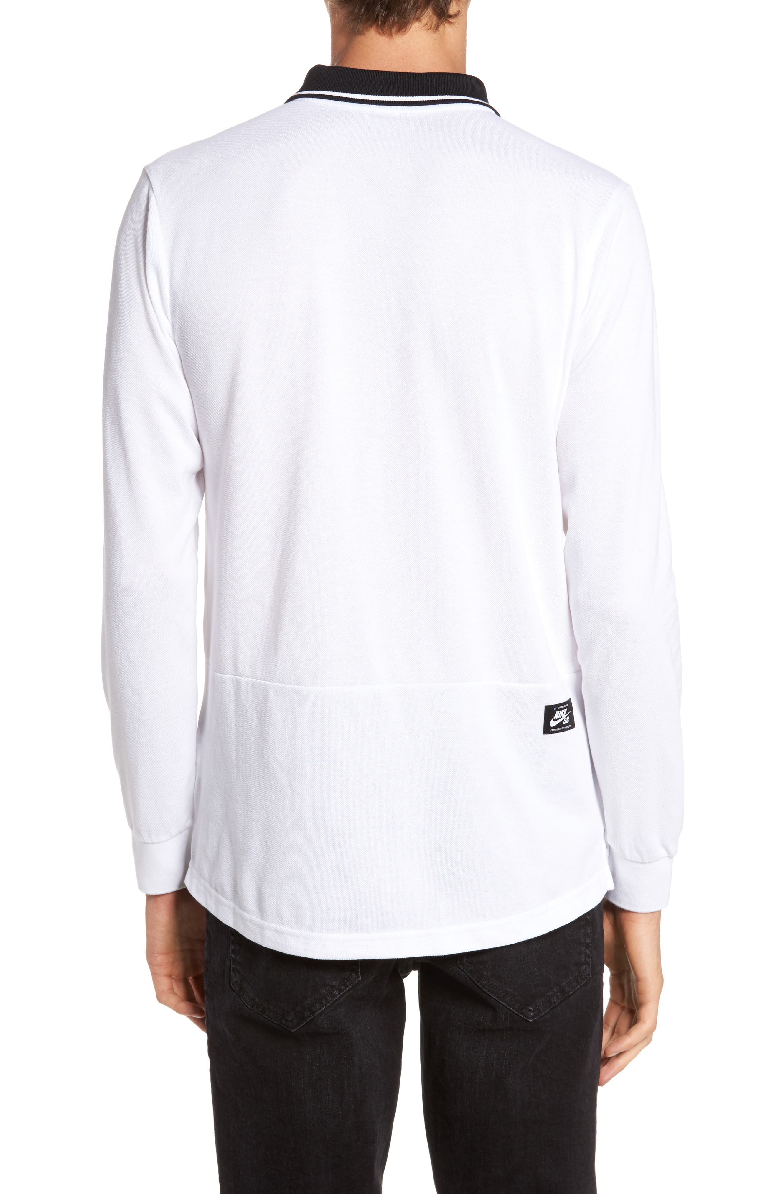 Alternate Image 2  - Nike SB Piqué Polo