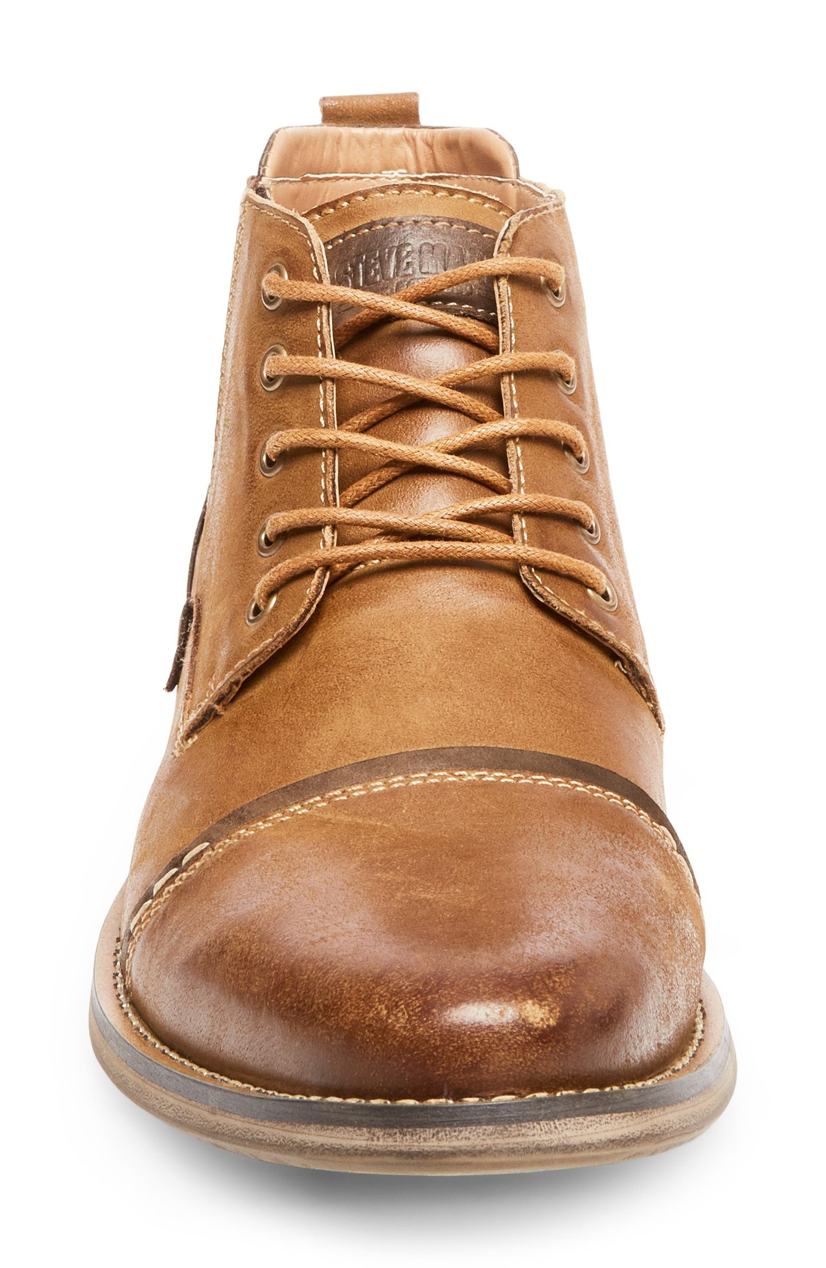 Alternate Image 4  - Steve Madden Proxy Cap Toe Boot (Men)
