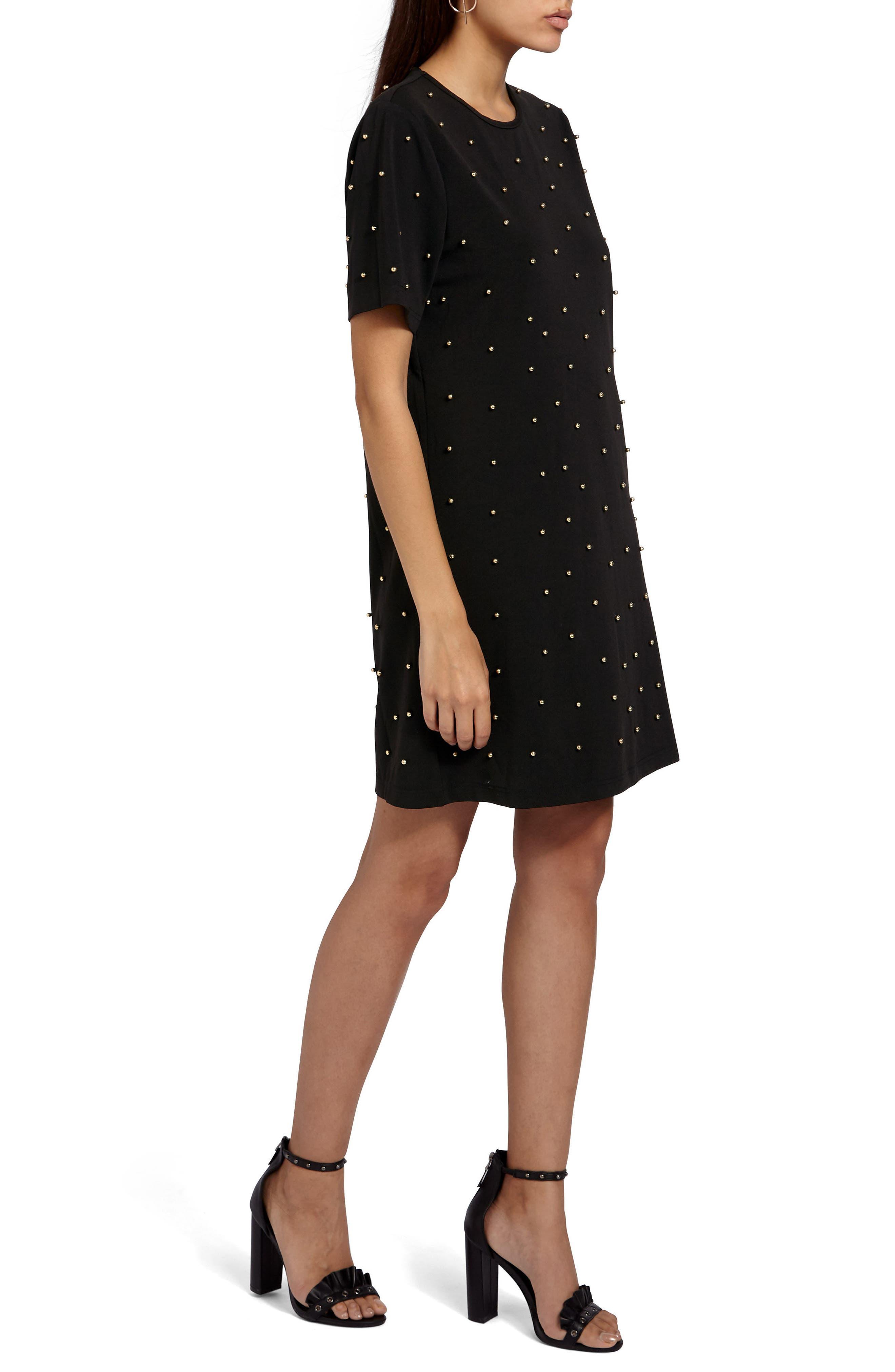 Alternate Image 3  - Missguided Embellished T-Shirt Dress