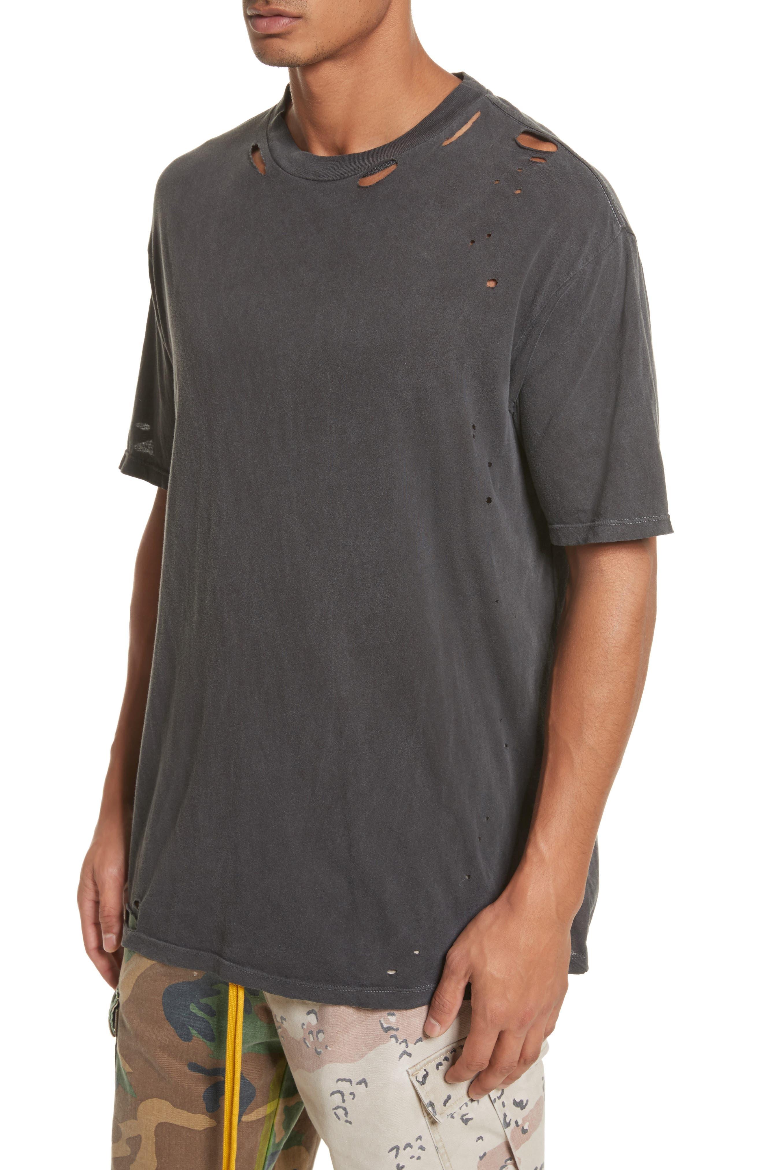 Alternate Image 4  - Drifter Cobain Distressed Oversize T-Shirt