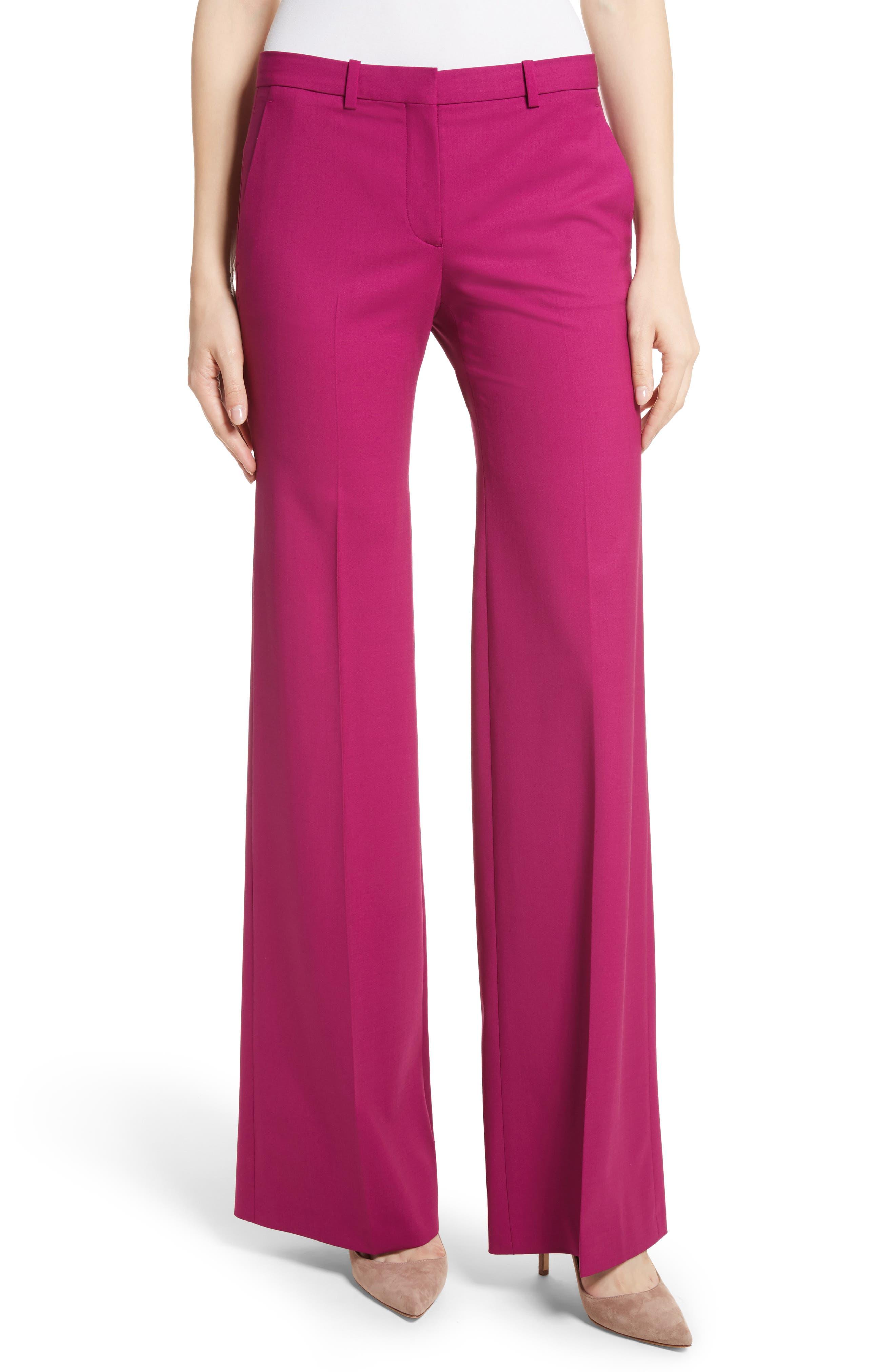 Pink n blue dress pants