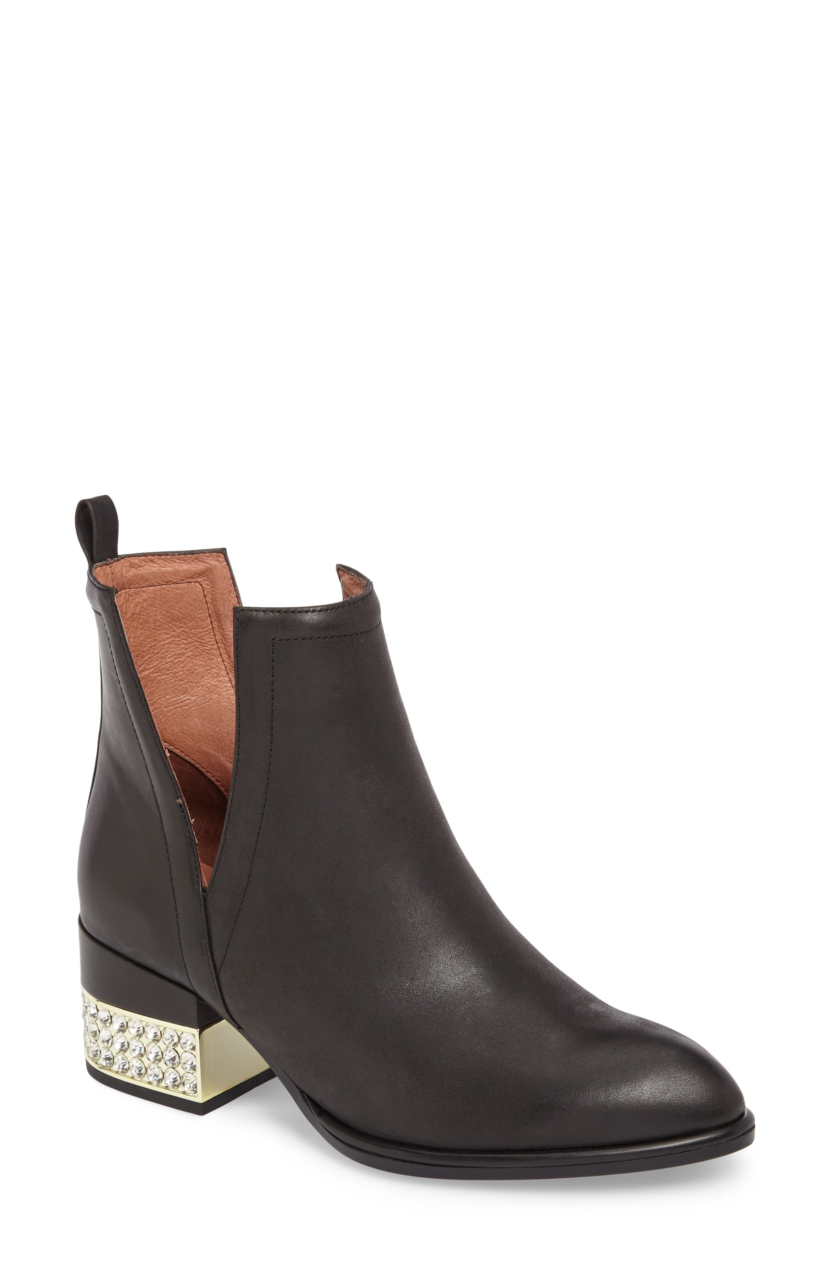 Main Image - Jeffrey Campbell Crystal Embellished Musk Bootie (Women)
