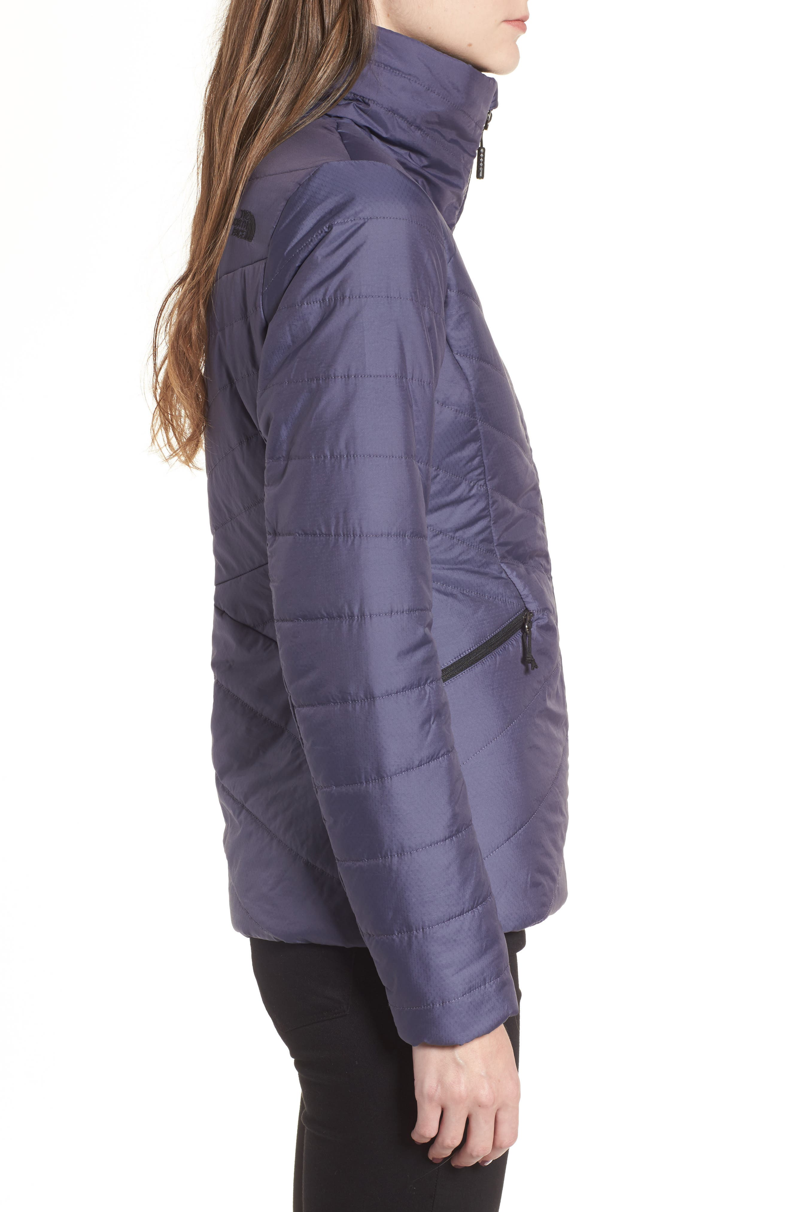 Moonlight Heatseeker Insulated Jacket,                             Alternate thumbnail 3, color,                             Greystone Blue
