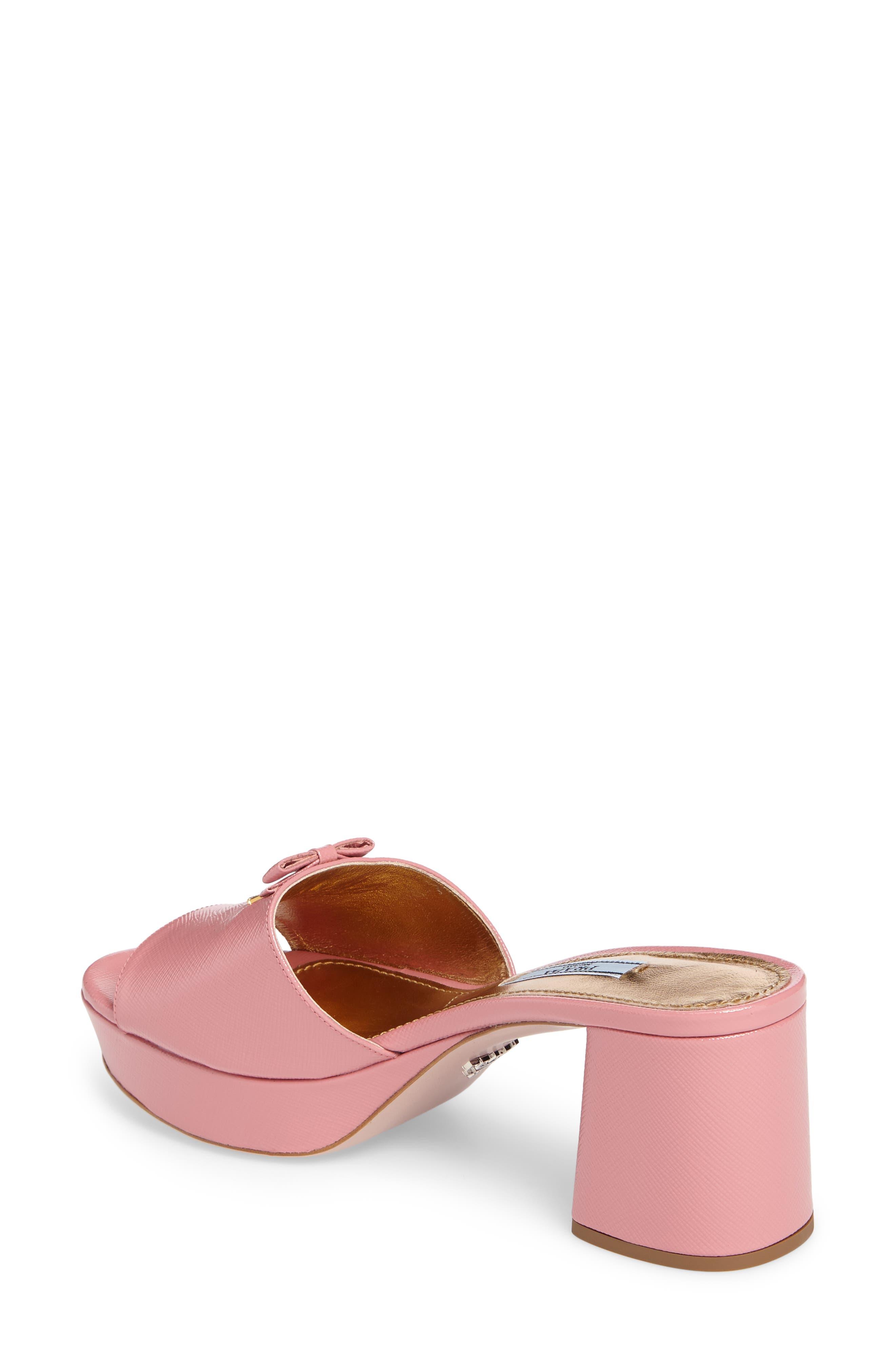 Alternate Image 2  - Prada Logo Block Heel Mule (Women)
