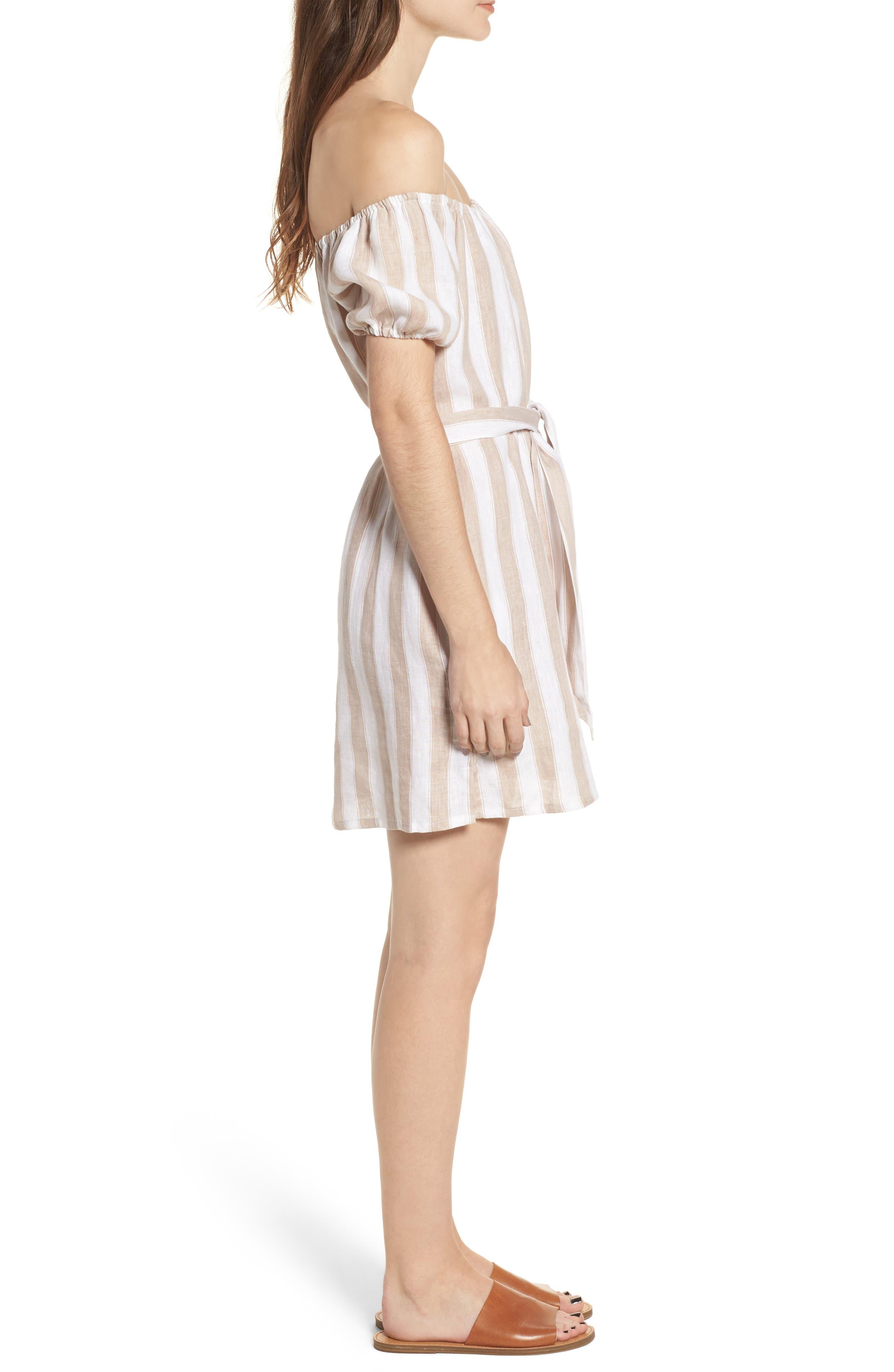 Alternate Image 3  - FAITHFULL THE BRAND Savoy Off the Shoulder Dress