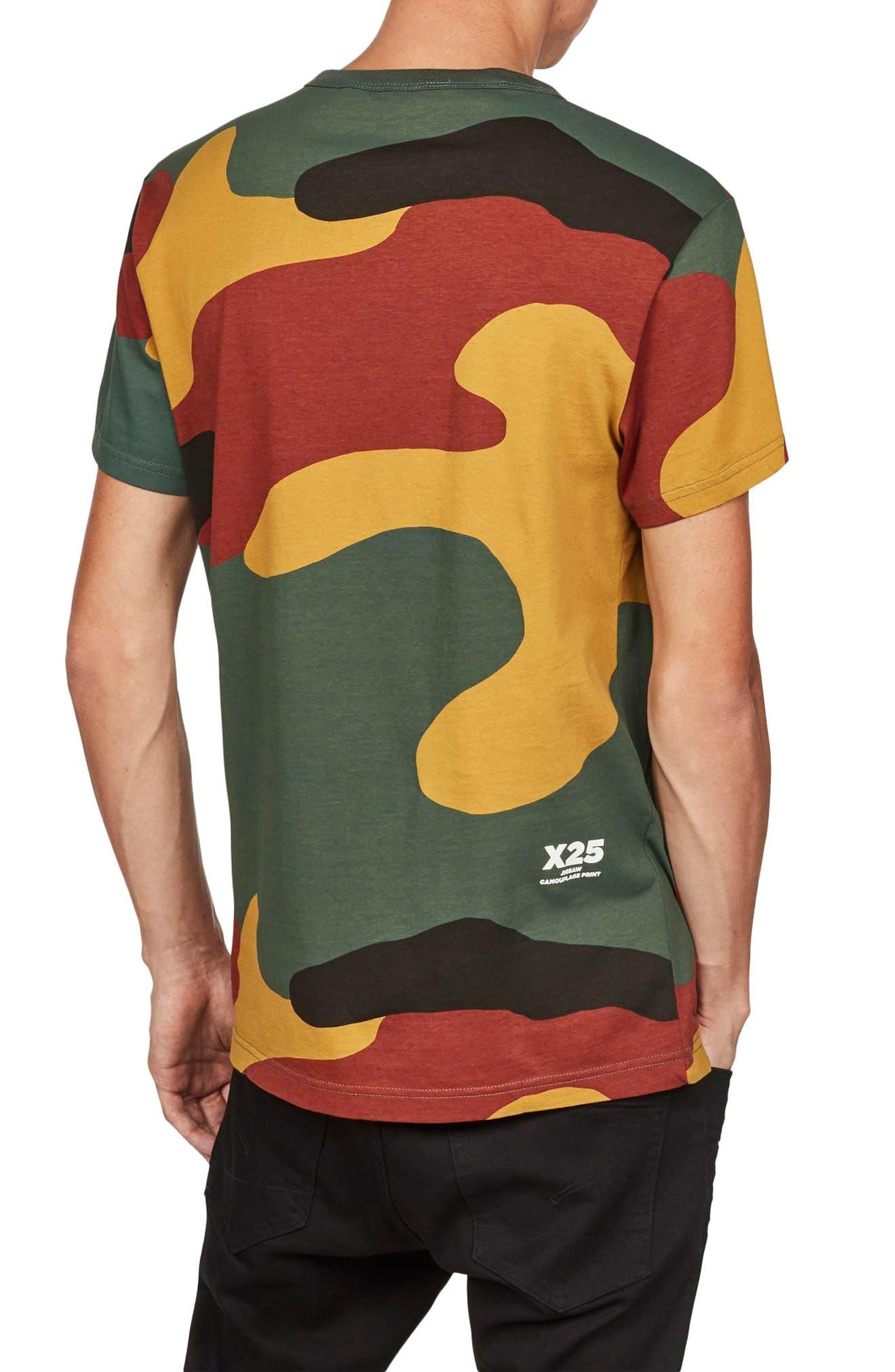 Jigsaw Camo T-Shirt,                             Alternate thumbnail 2, color,                             White