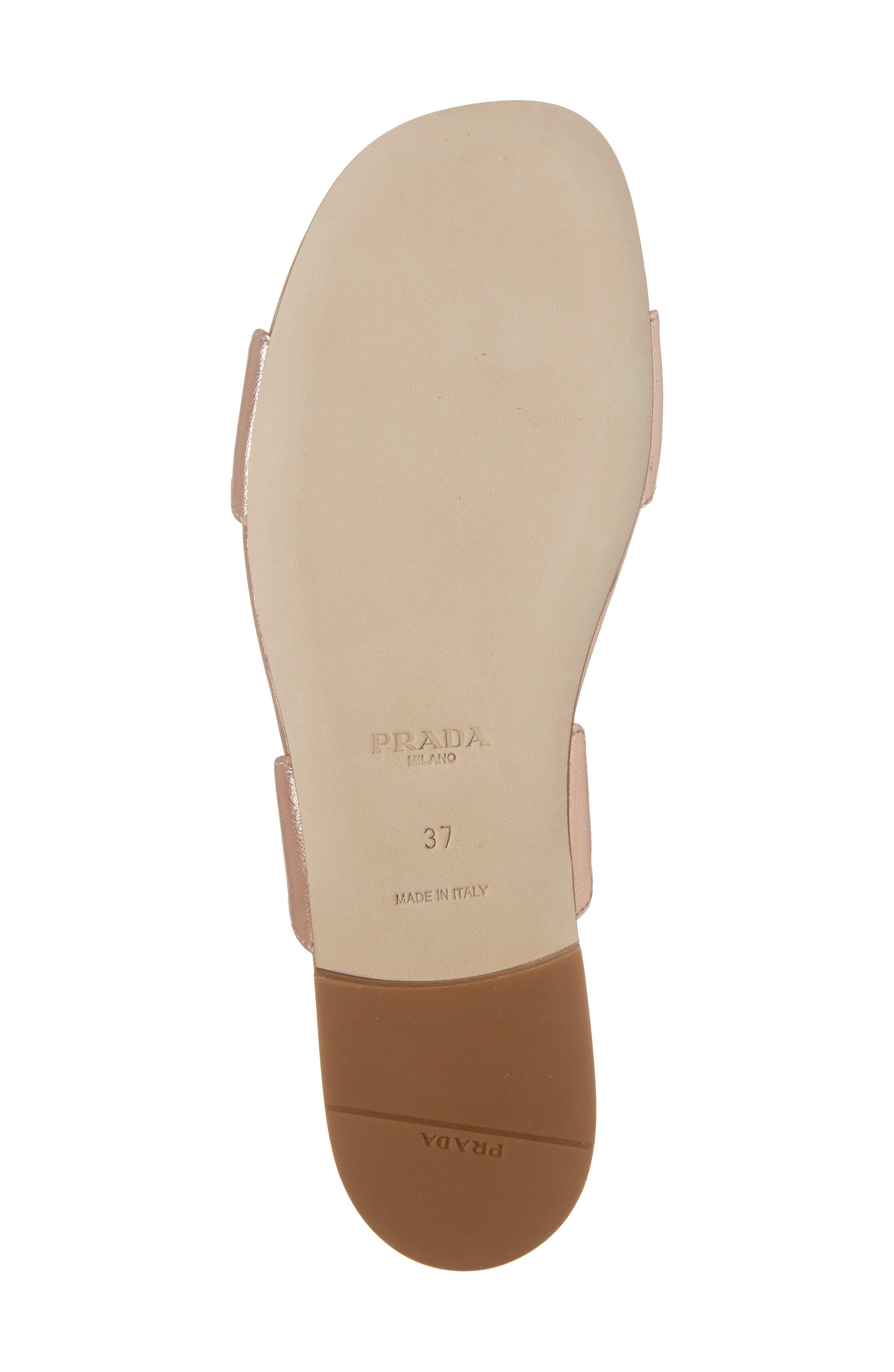 Alternate Image 6  - Prada Wave Slide Sandal (Women)