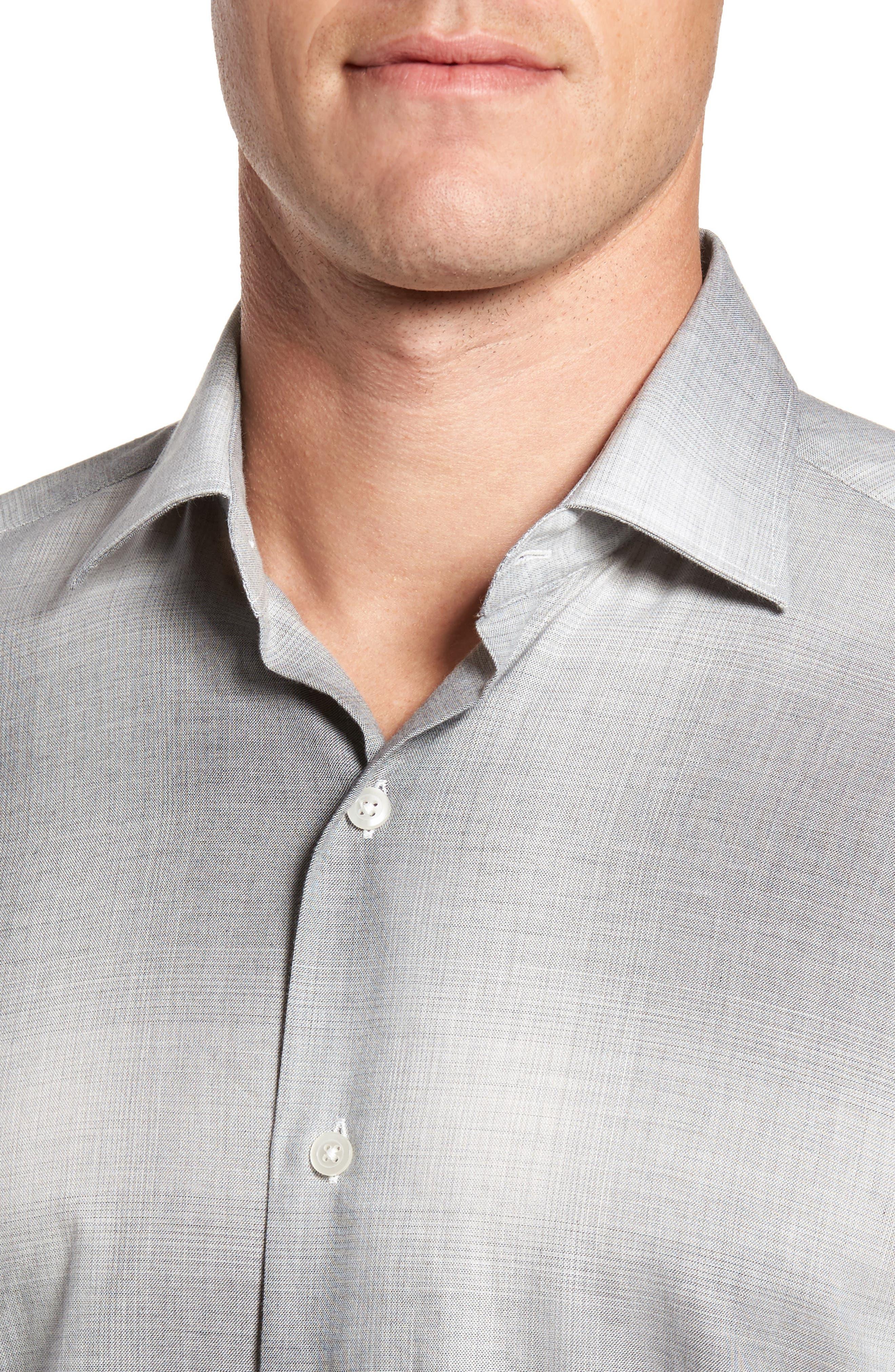 Alternate Image 4  - Culturata Slim Fit Plaid Sport Shirt