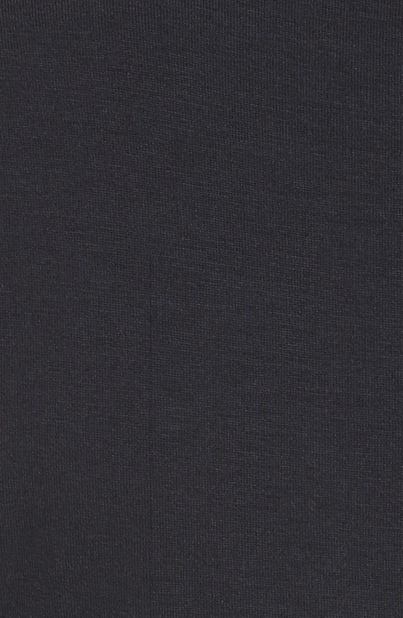Petalo Twisted Dress,                             Alternate thumbnail 5, color,                             Navy Blue