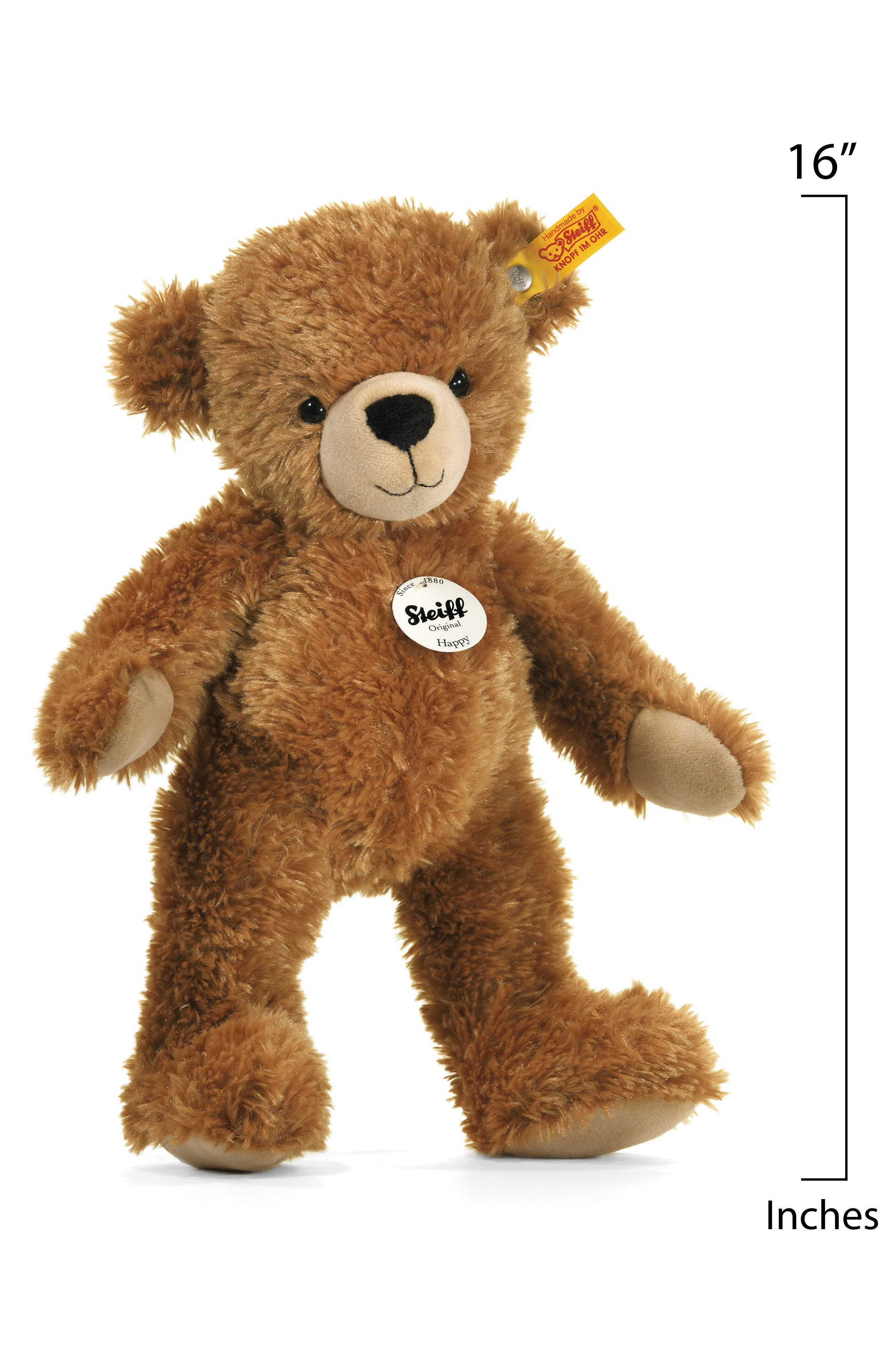 Happy Teddy Bear,                             Alternate thumbnail 2, color,                             Light Brown