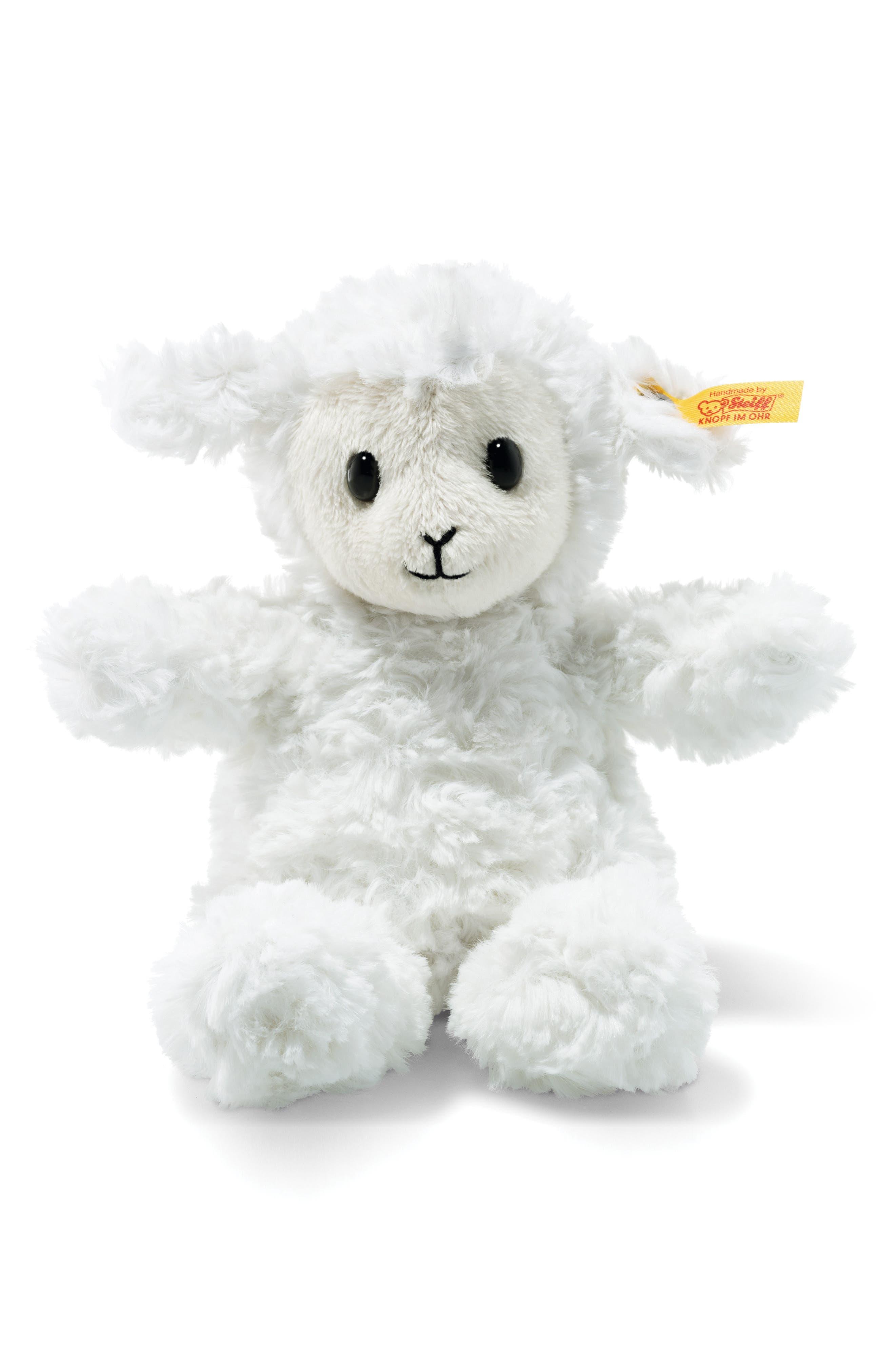 Steiff Fuzzy Lamb Stuffed Animal