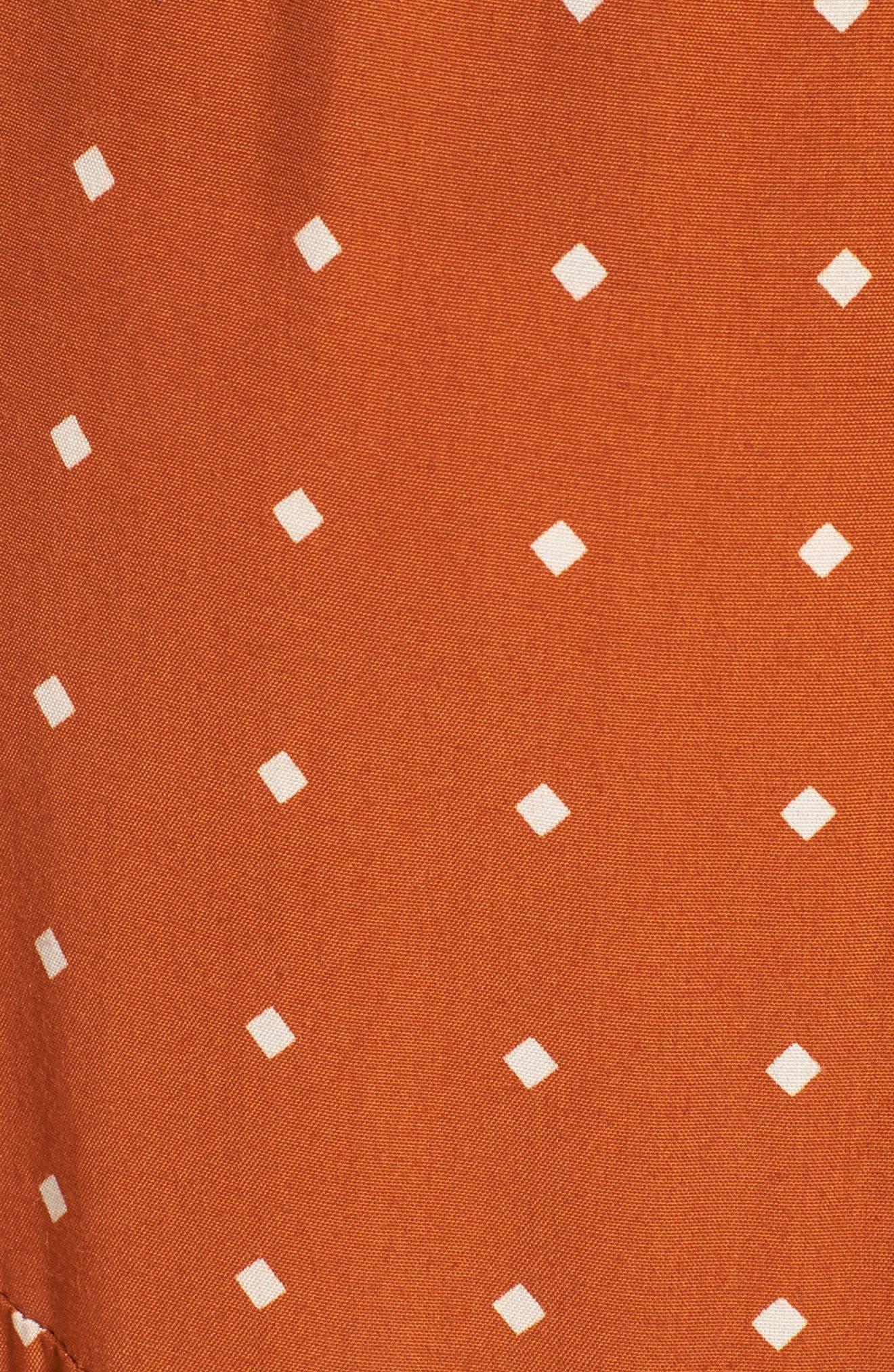 Alternate Image 6  - FAITHFULL THE BRAND Kamares Polka Dot Midi Skirt
