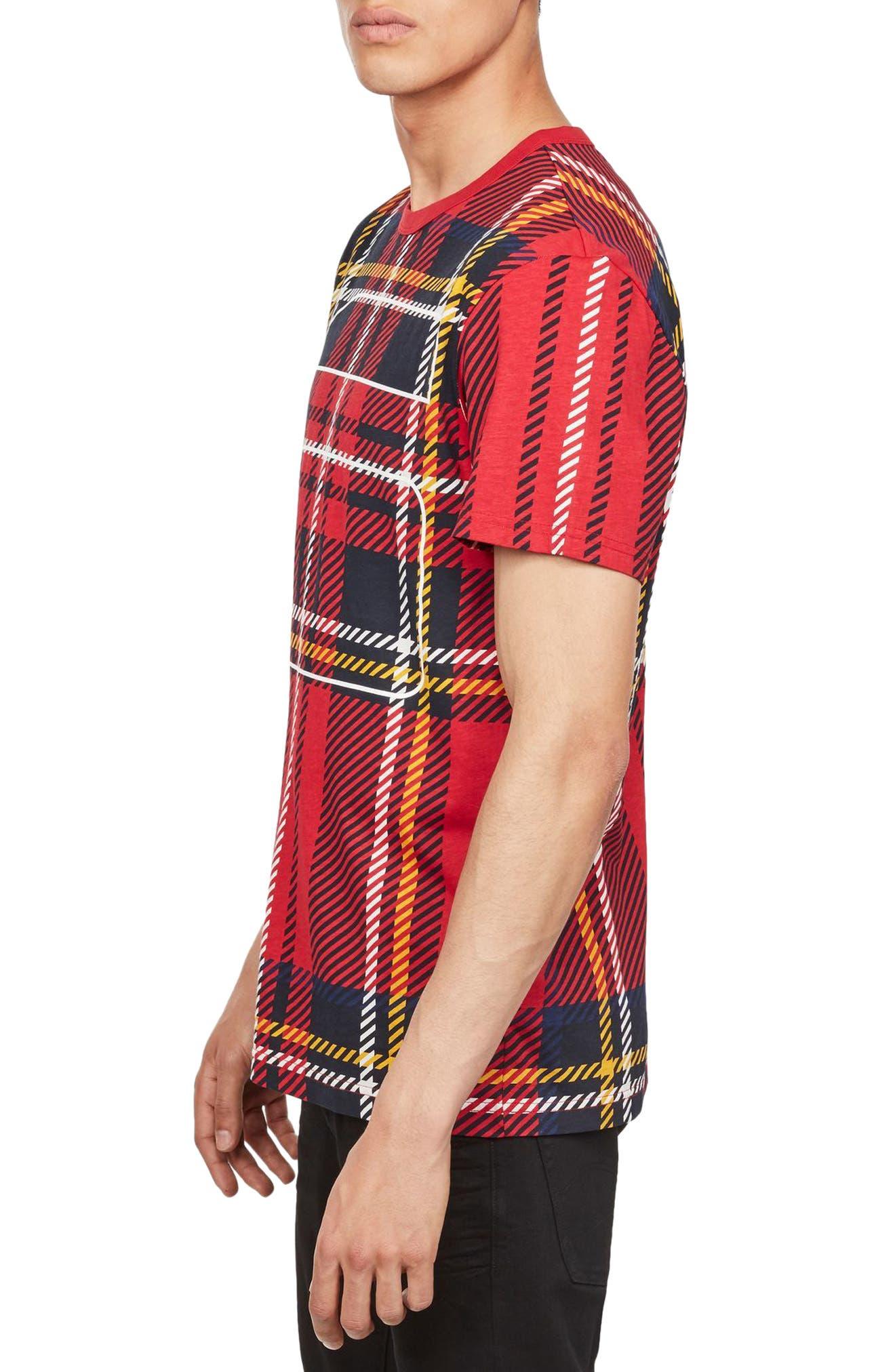 Alternate Image 3  - G-Star Raw Royal Tartan Graphic T-Shirt