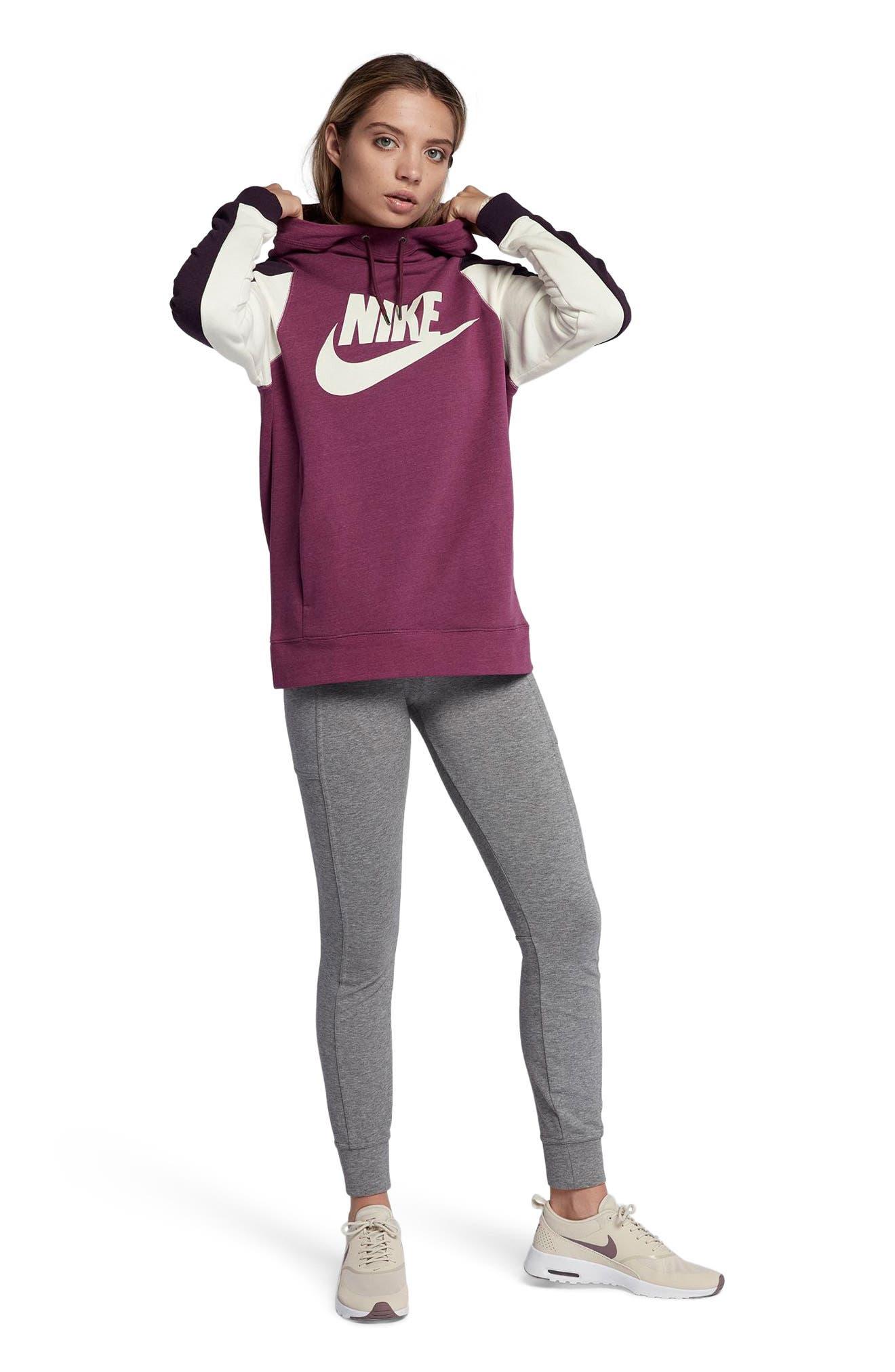 Alternate Image 5  - Nike Women's Modern Pullover Hoodie